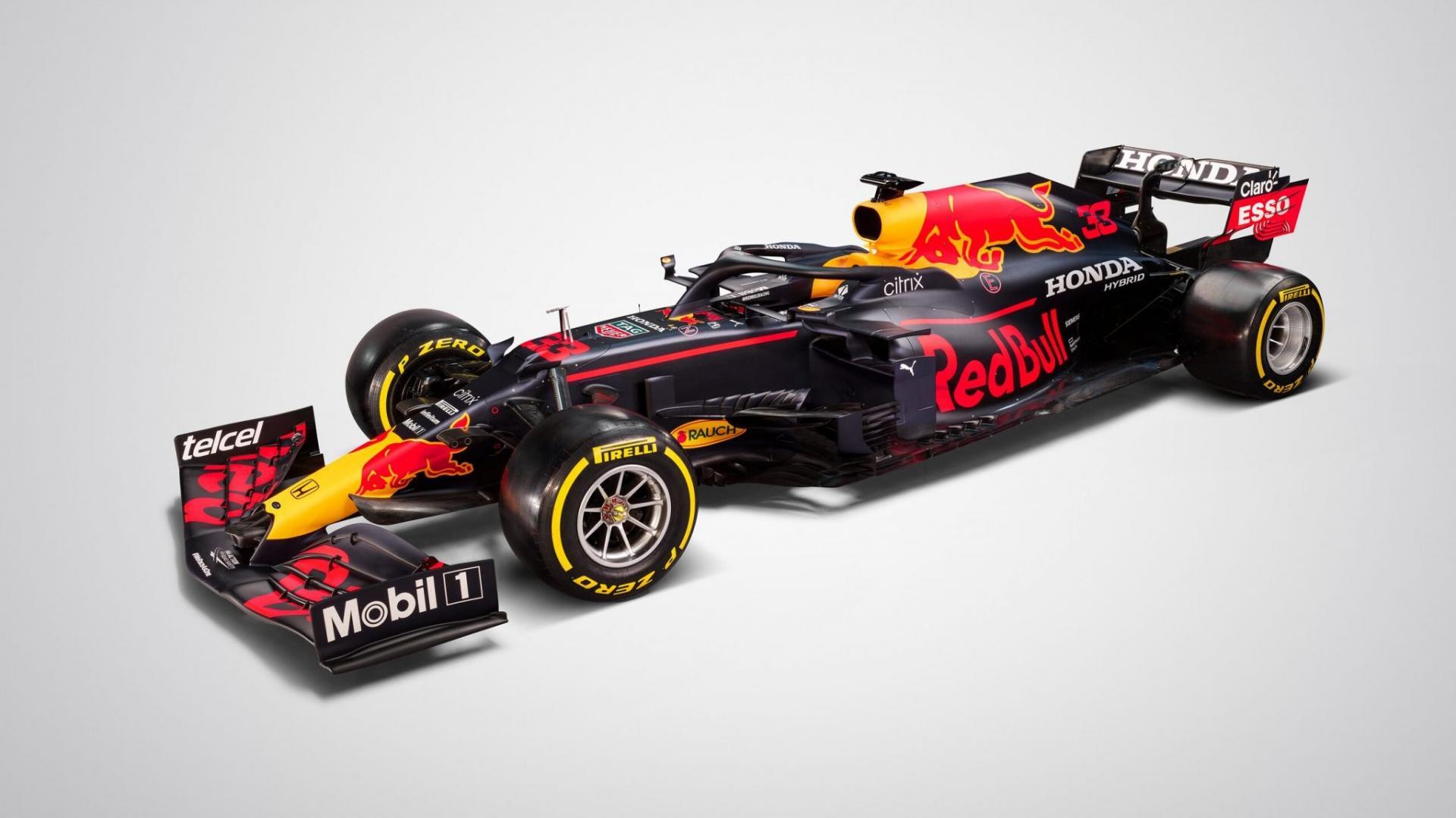Red Bull RB16B van Max Verstappen