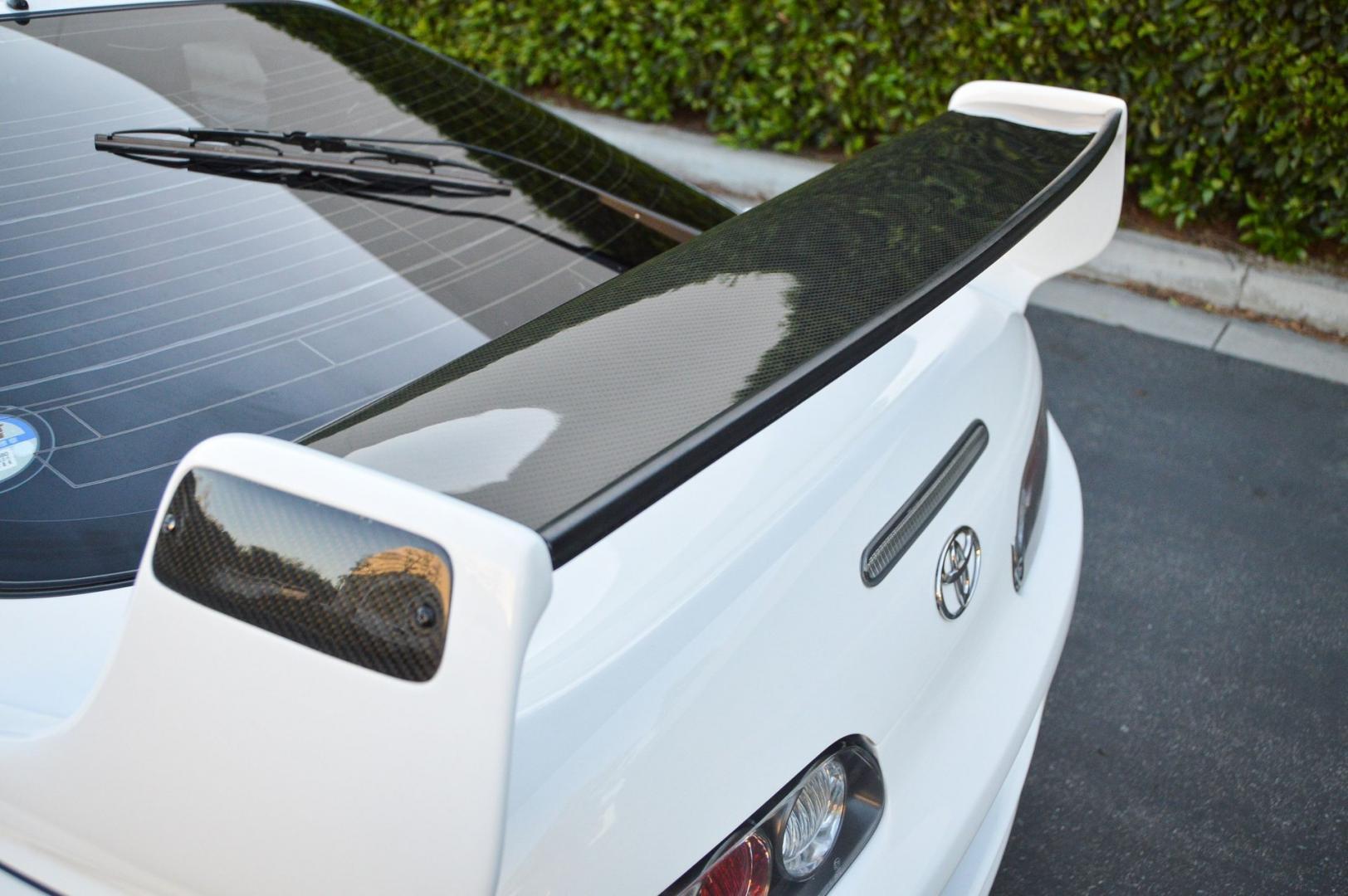 Toyota Supra met TRD-bodykit