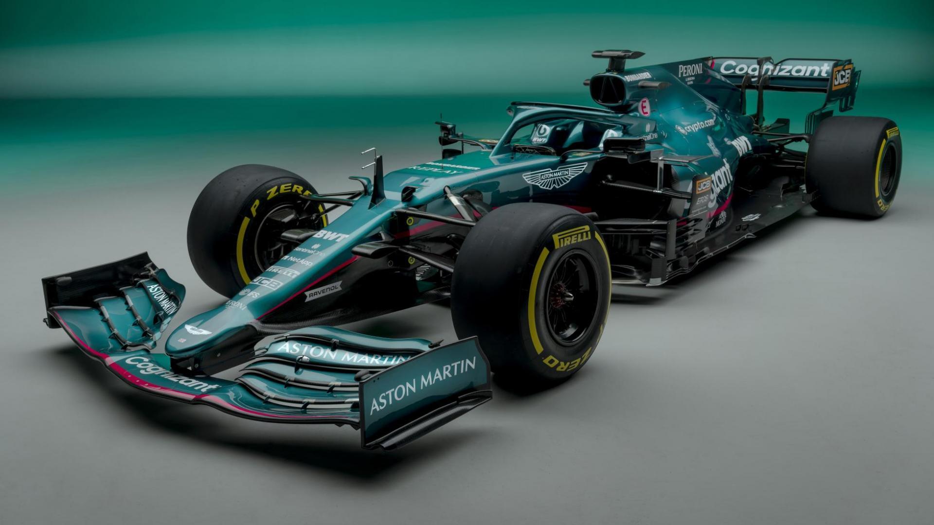 AMR21: De F1-auto van Aston voor 2021