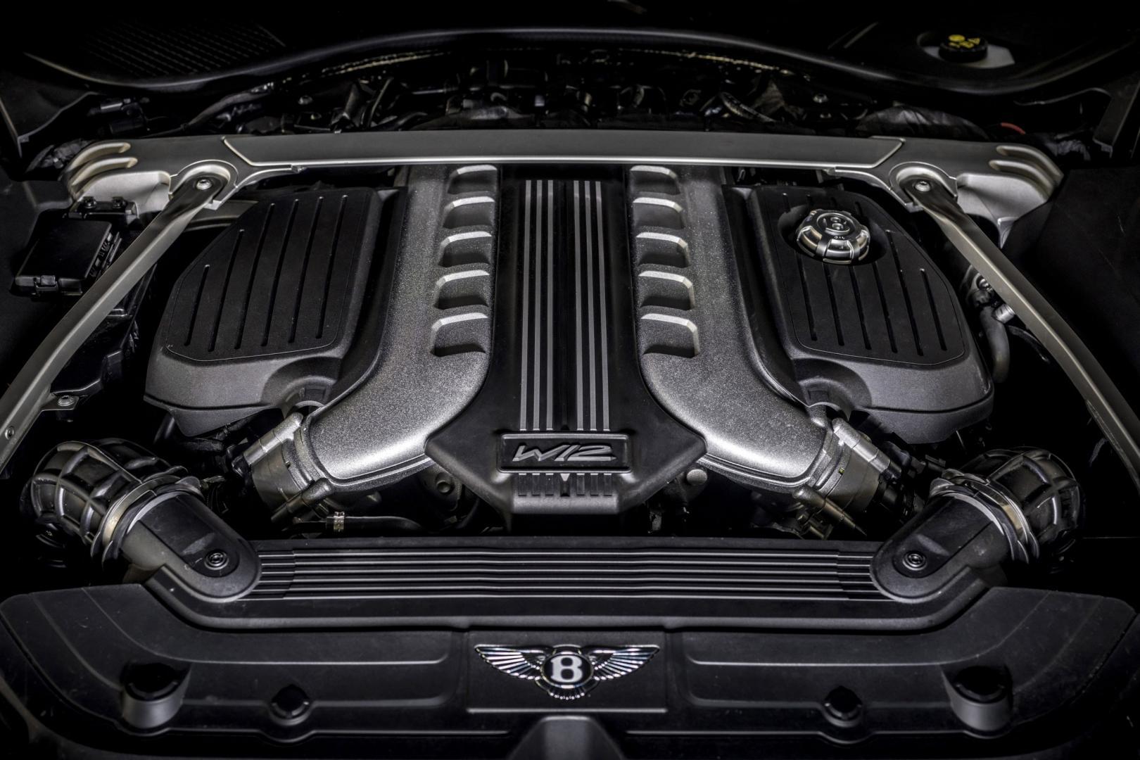 Motor W12 Bentley Continental GT Speed