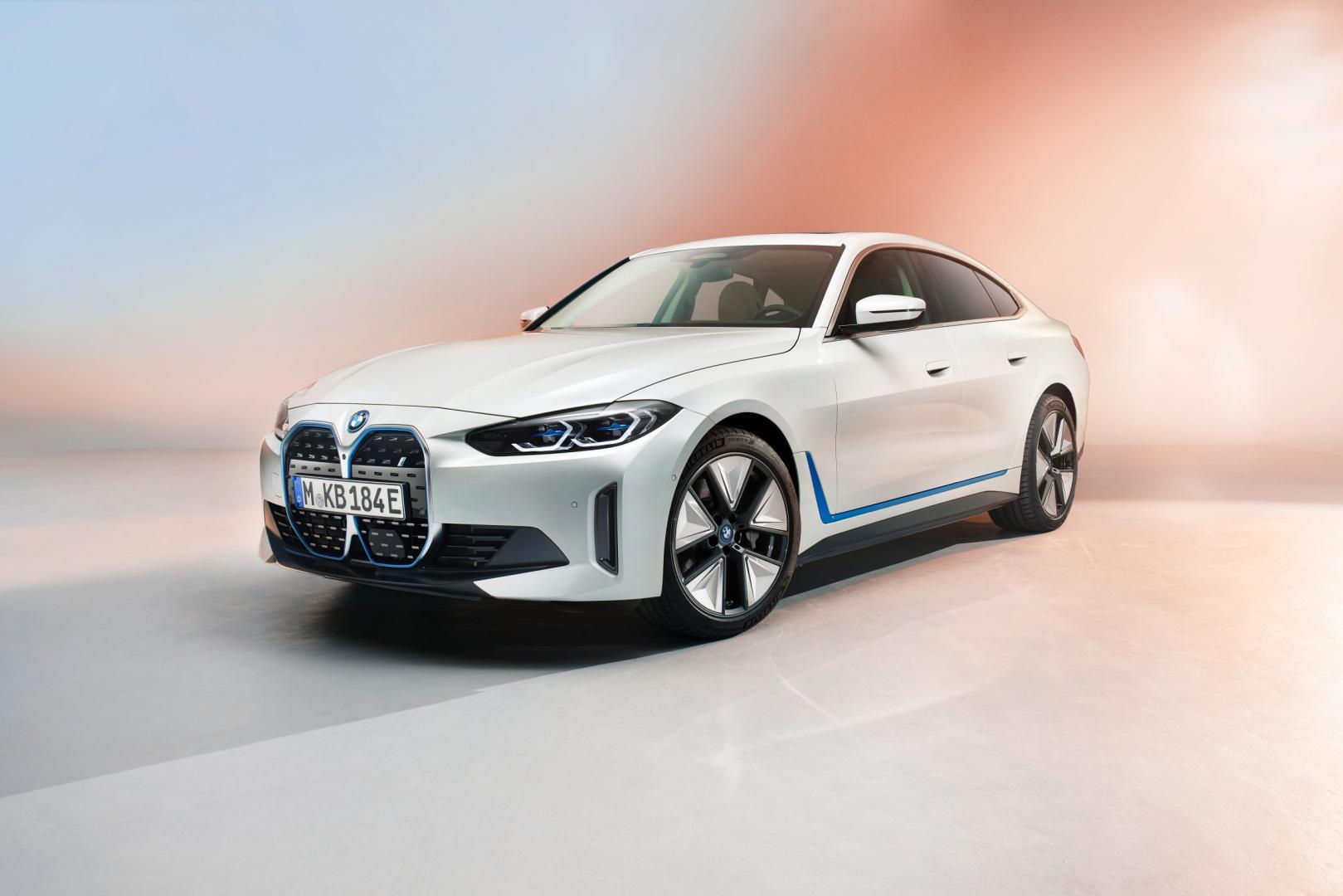 Elektrische BMW i4 (2021)
