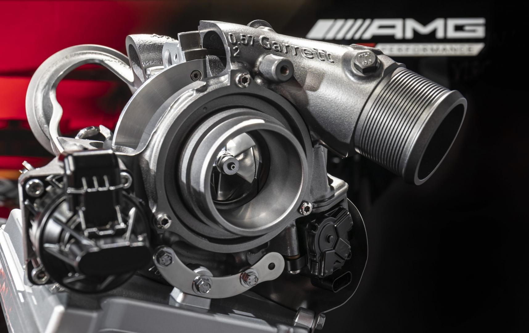 elektrische turbo garrett mercedes-amg hybride