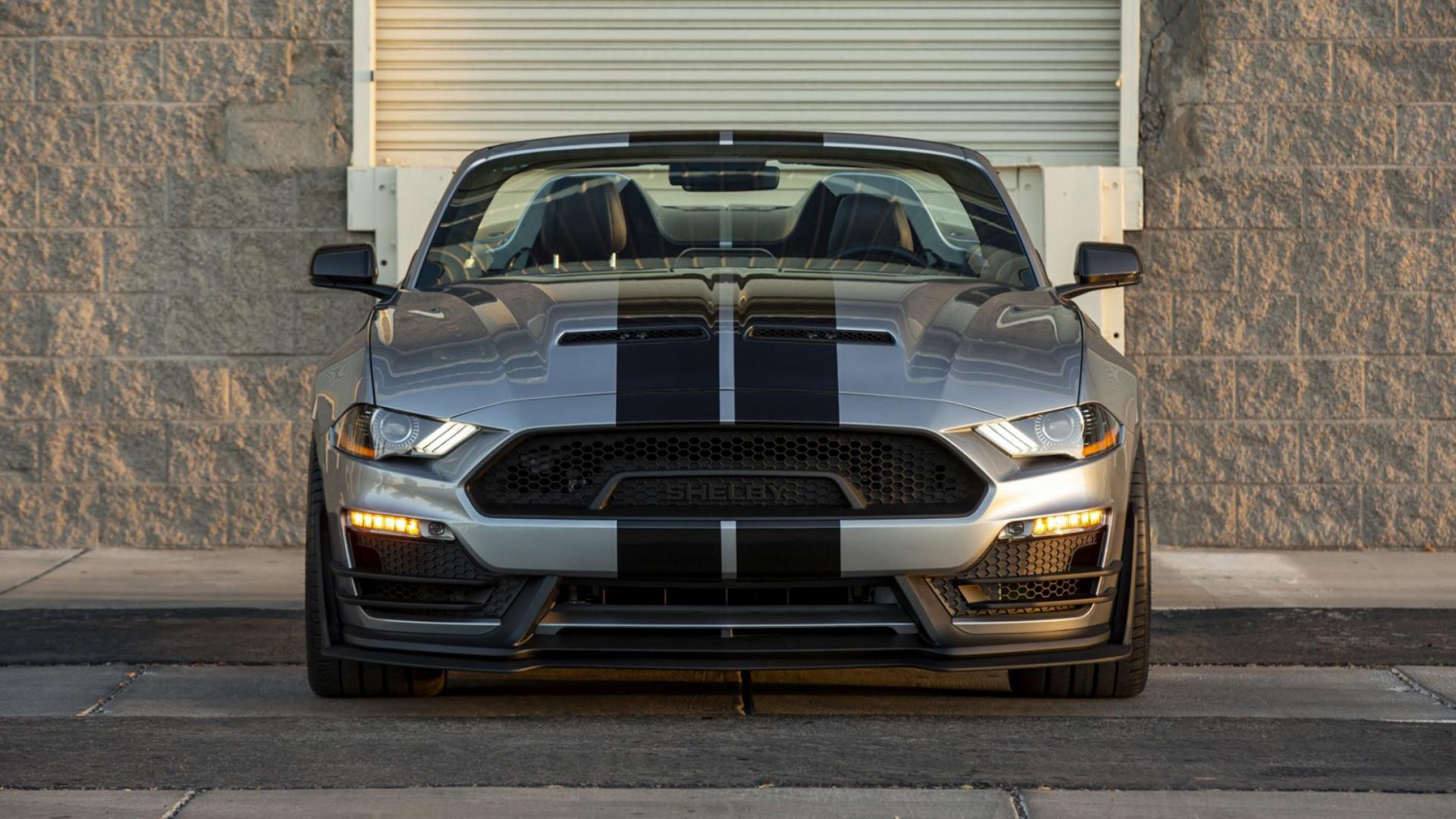 Voorkant Ford Mustang Shelby Super Snake Speedster (2021)