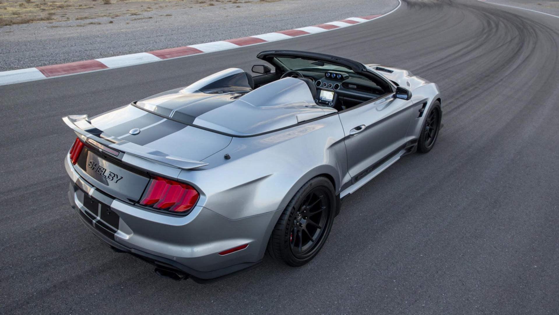Ford Mustang Shelby Super Snake Speedster (2021) tonneau cover