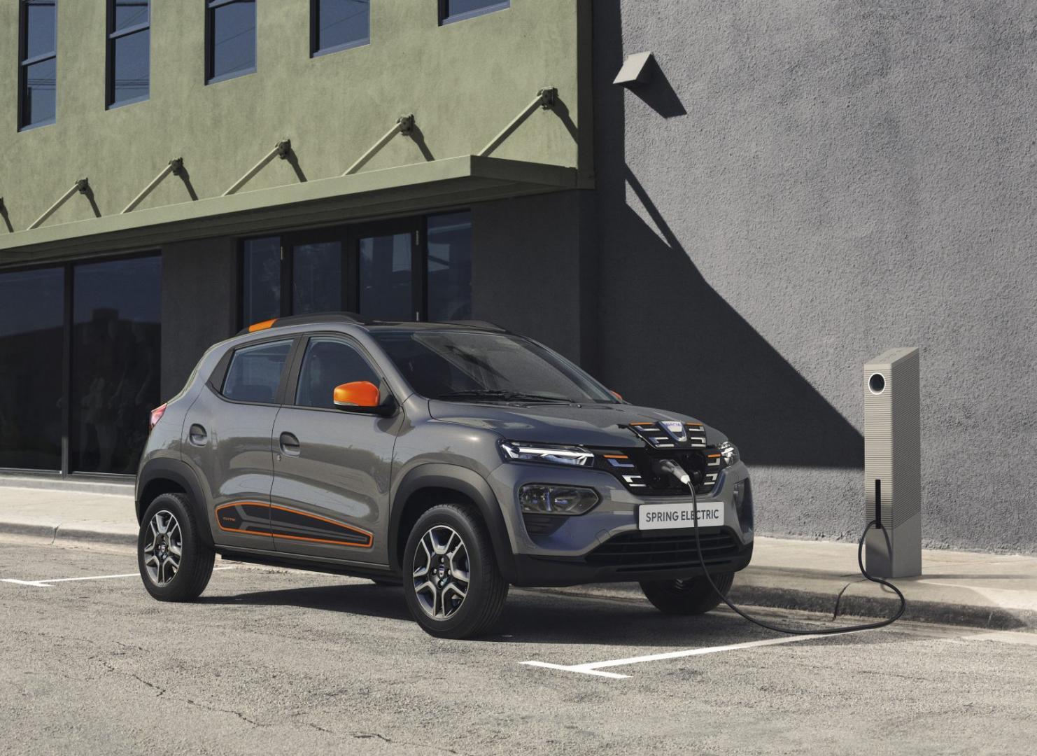 Goedkoopste elektrische auto Dacia Spring