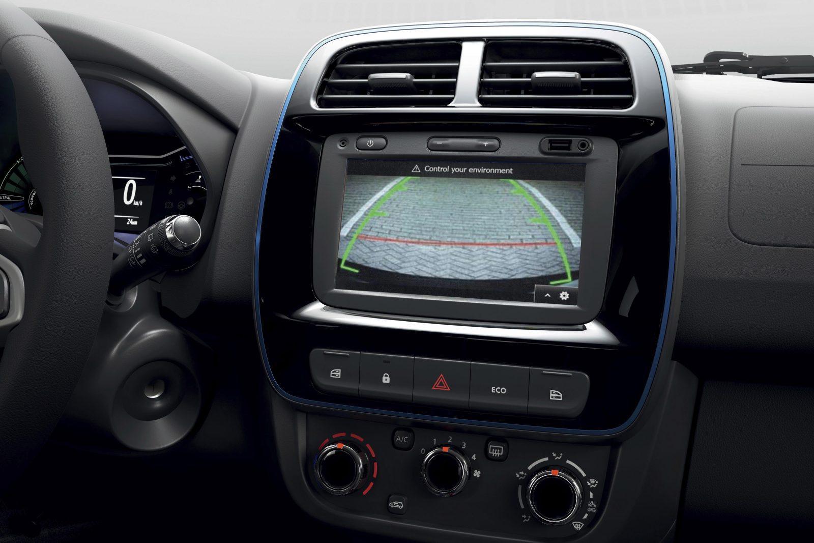 Scherm Interieur Dacia Spring