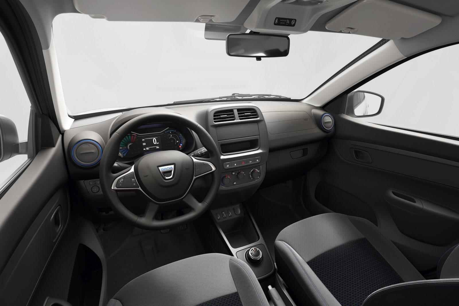 Interieur Dacia Spring