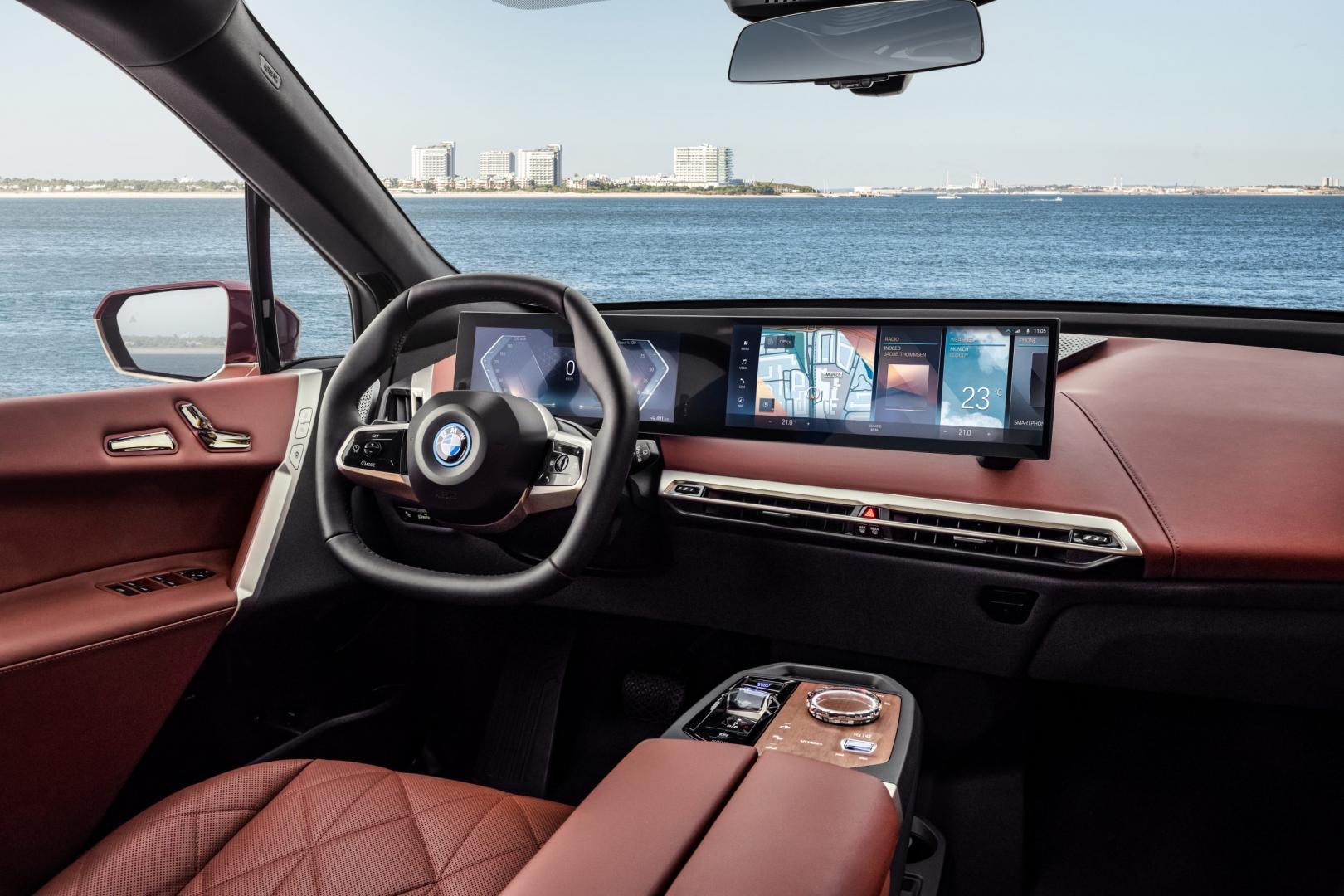 Interieur Elektrische BMW iX xDrive50 (2021)