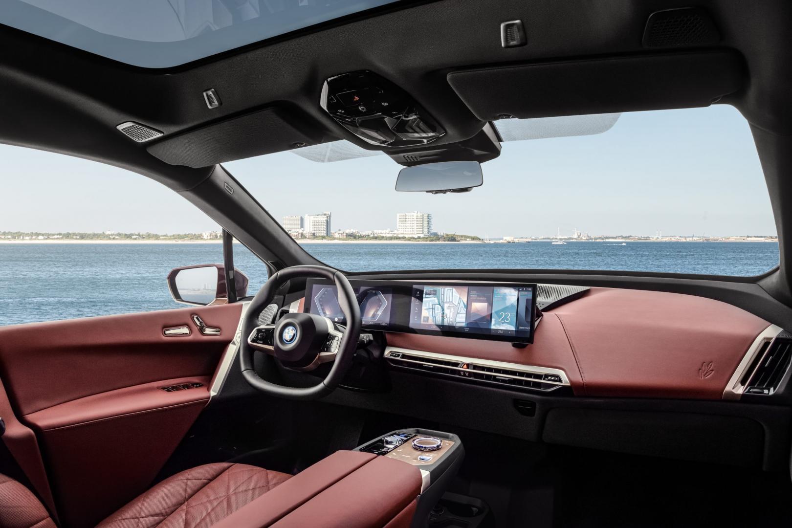 Interieurv Elektrische BMW iX xDrive50 (2021)