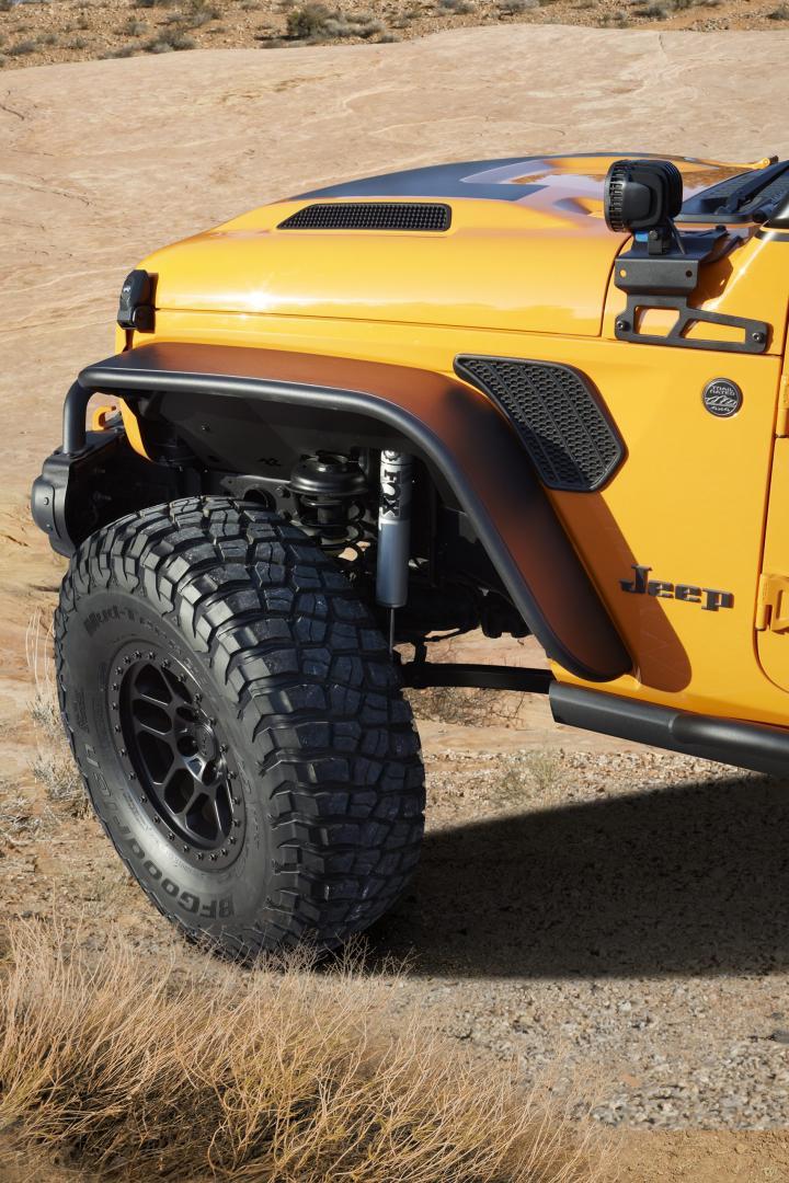 Jeep Orange Peelz