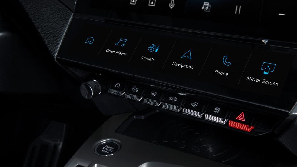 Schakelaars en knoppen Peugeot 308 (2021)
