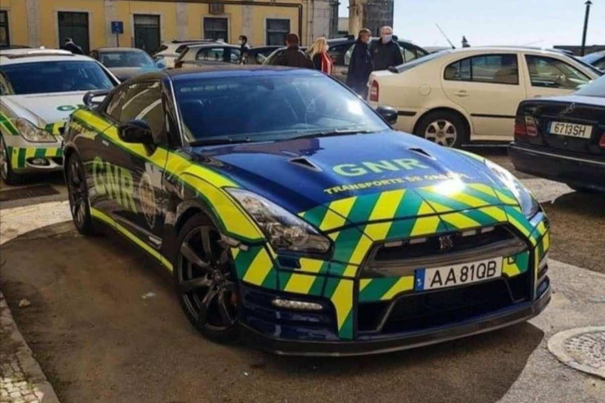 Nissan GT-R voor de Portugese politie