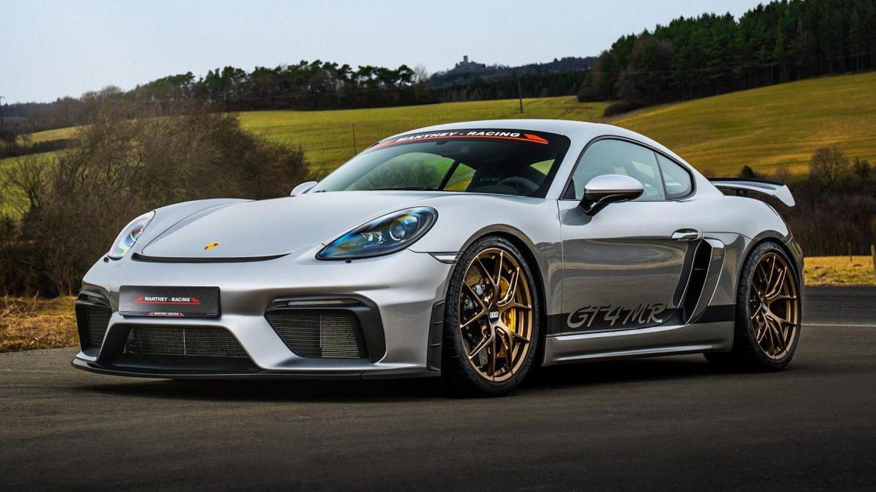 Porsche Cayman GT4 MR van Manthey-Racing