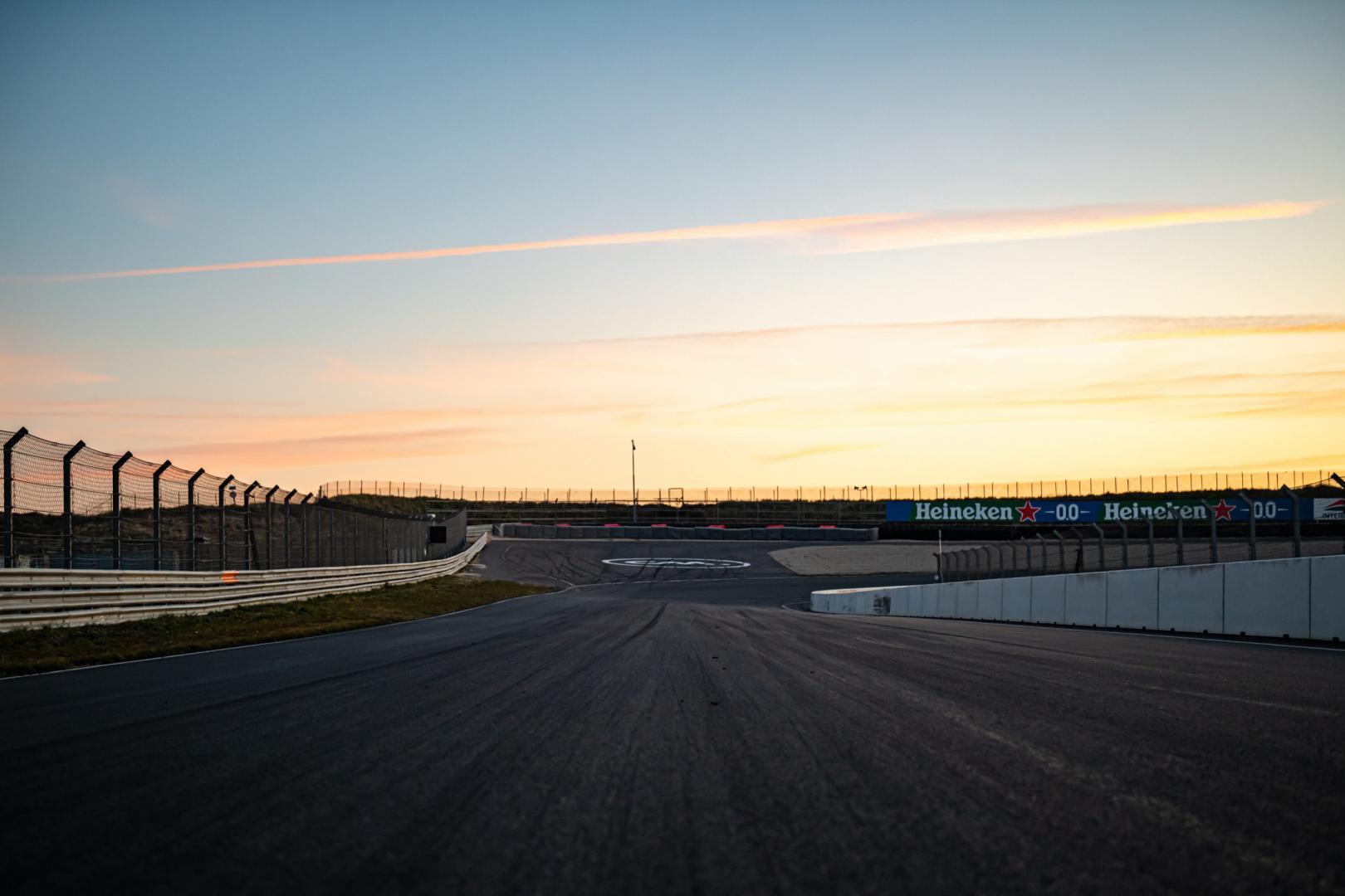 Zonsondergang Circuit Zandvoort