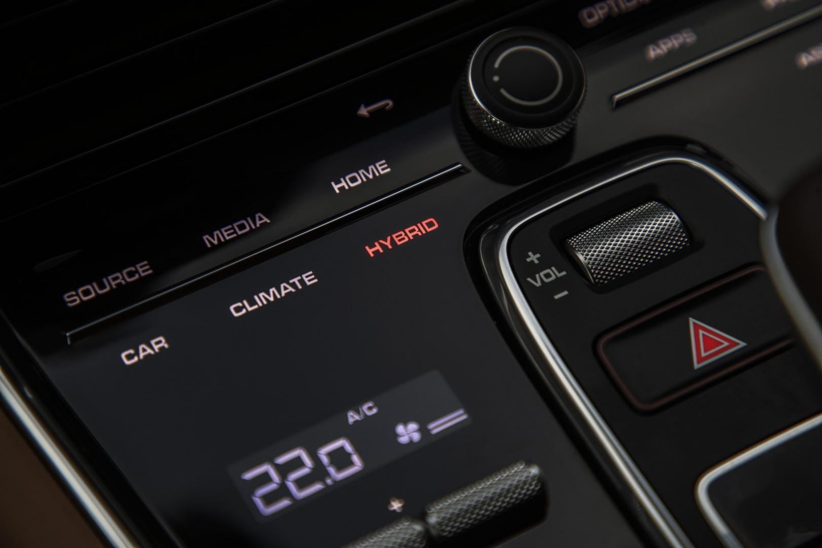 Knoppen Porsche Panamera Turbo S E-Hybrid Sport Turismo