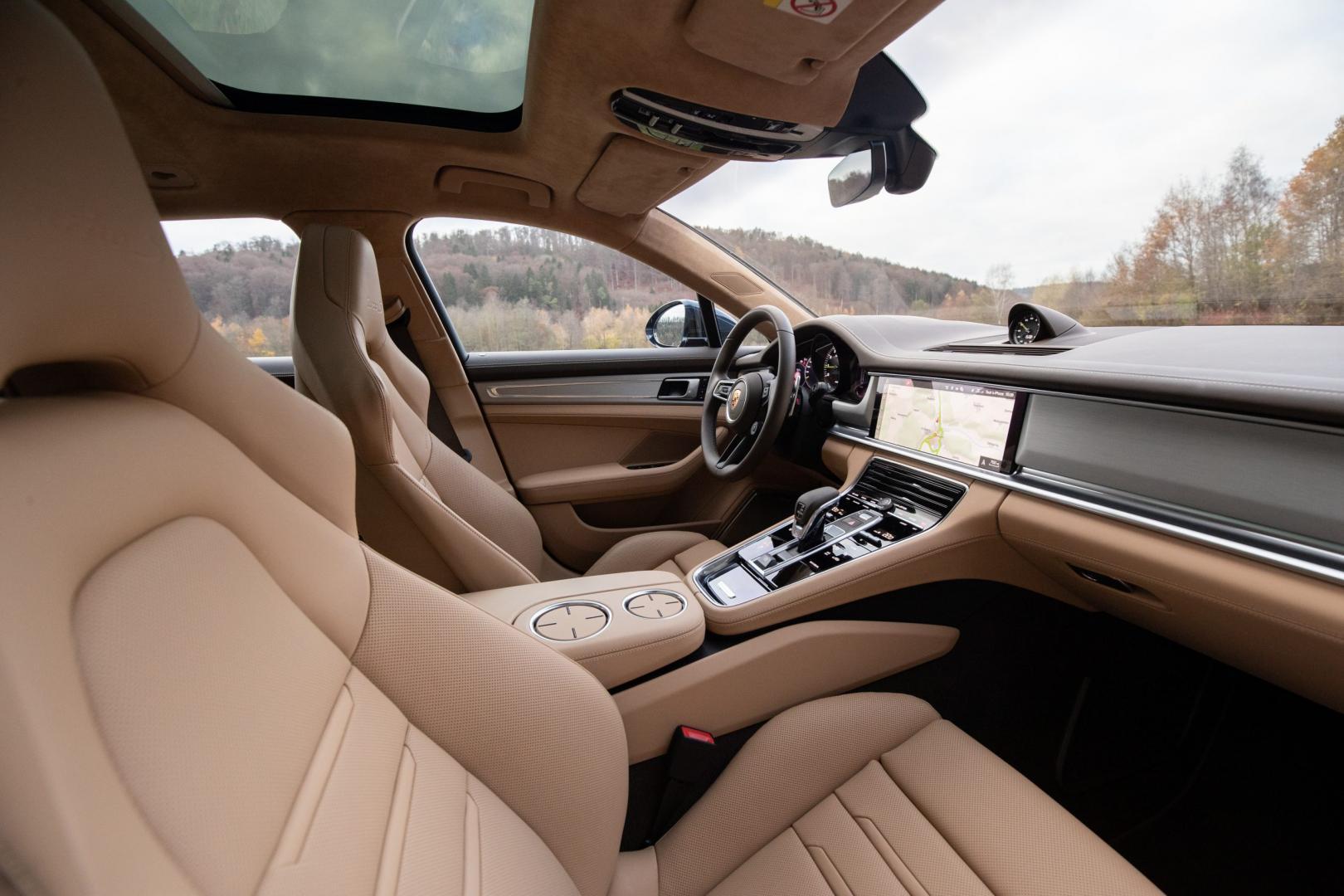 Voorstoelen Porsche Panamera Turbo S E-Hybrid Sport Turismo