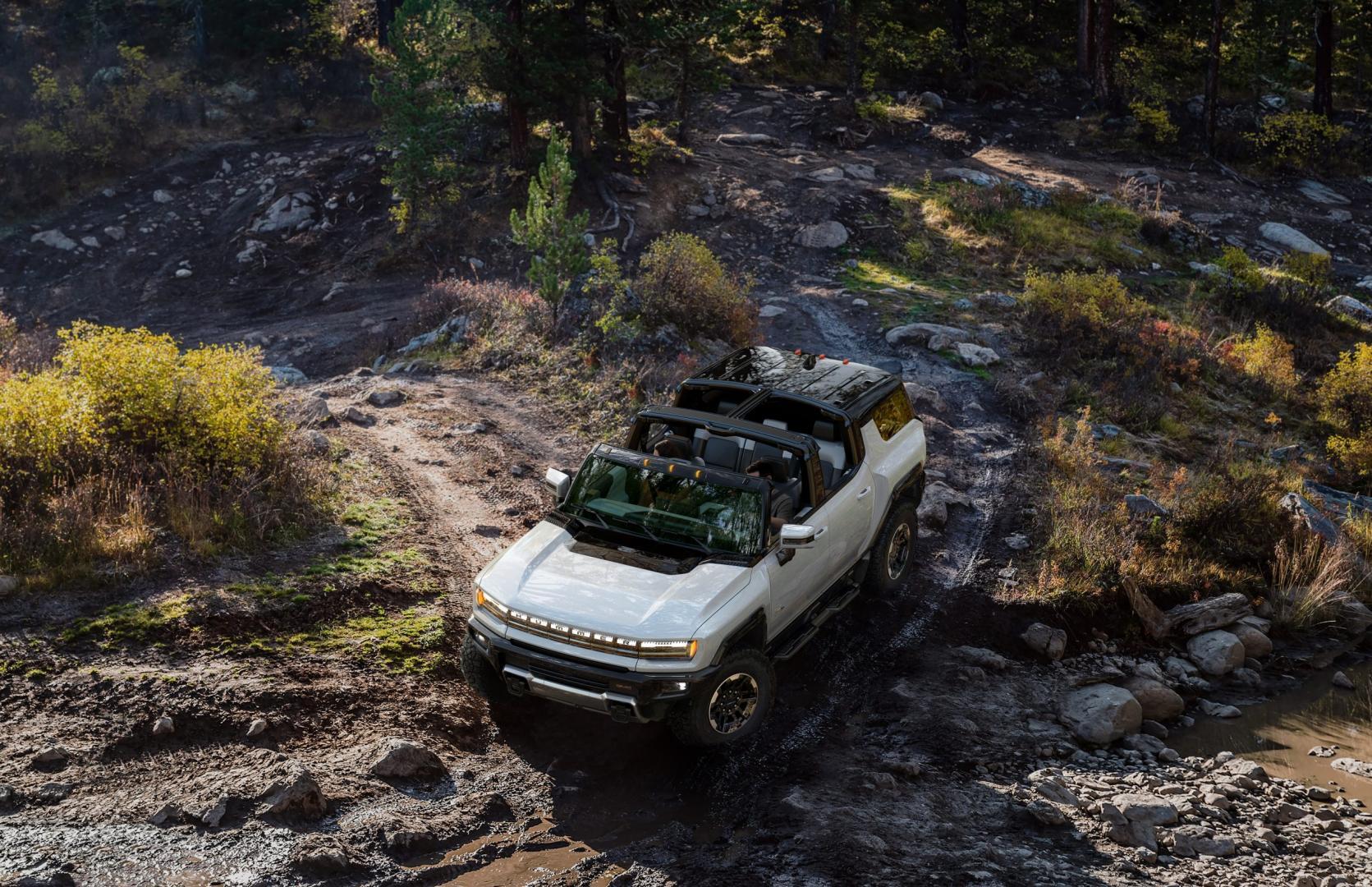 Dak Elektrische GMC Hummer SUV