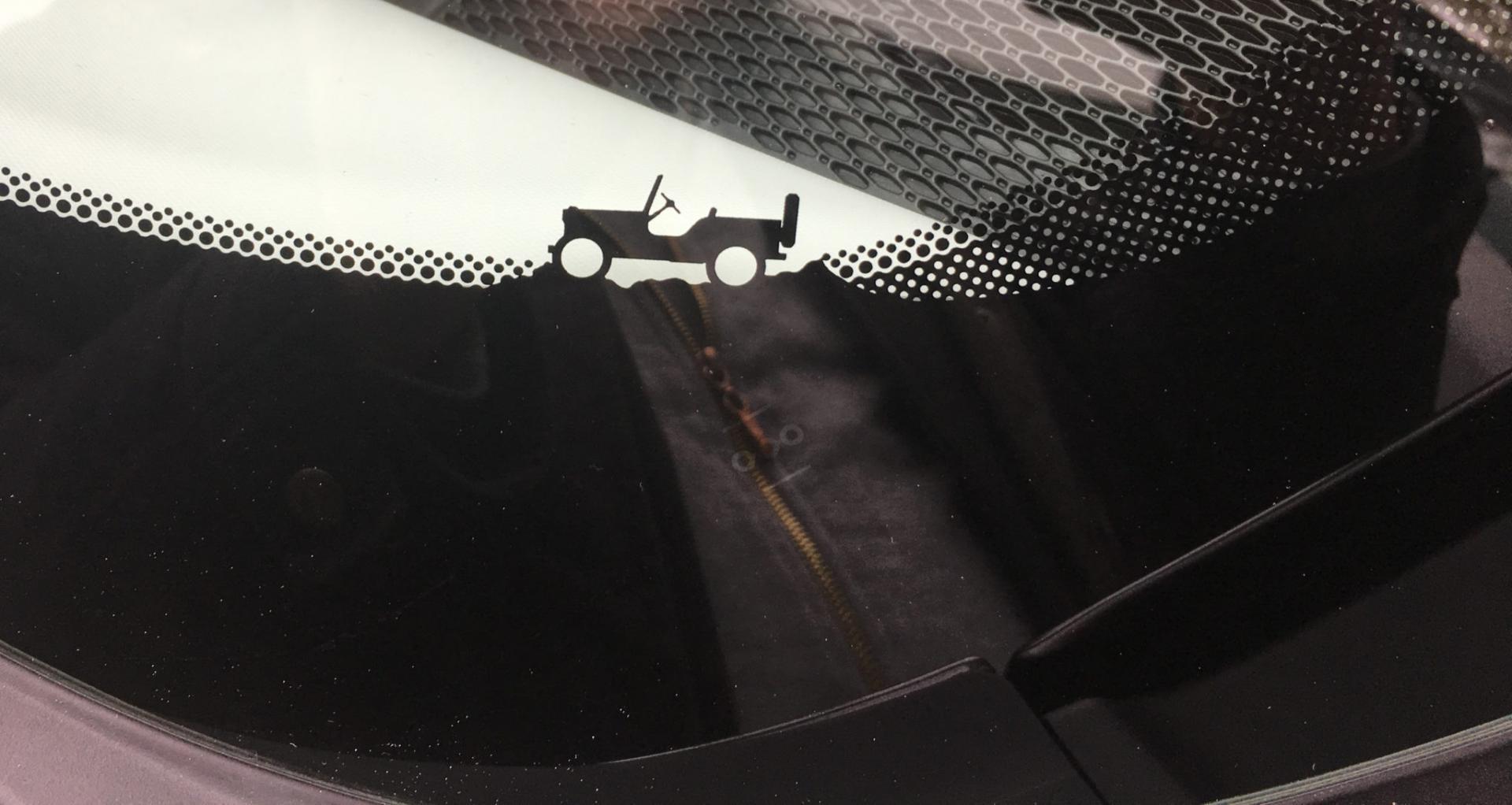 Jeep Renegade Voorruit