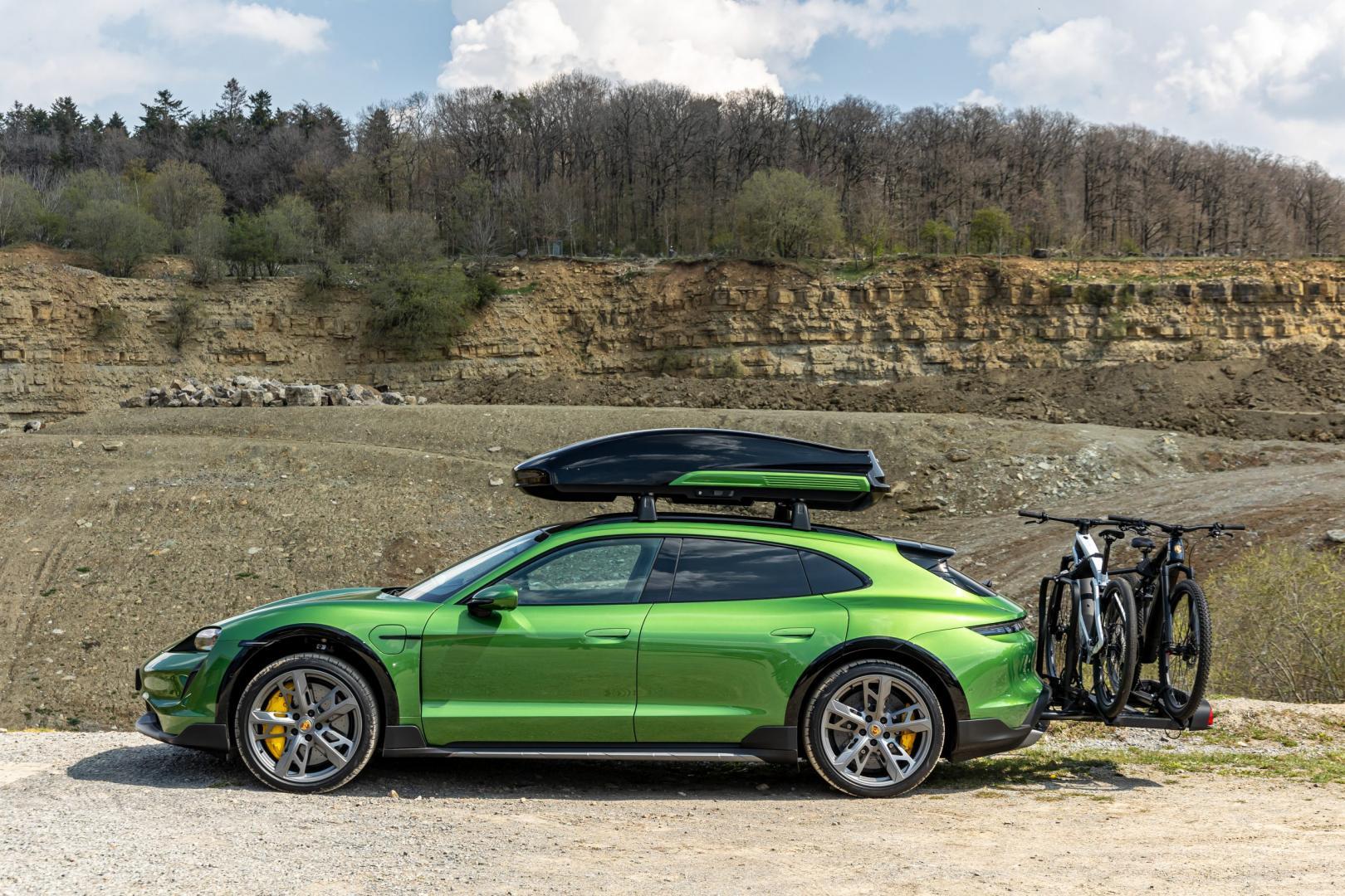 Porsche Taycan Turbo S Cross Turismo 2021: 1e rij-indruk