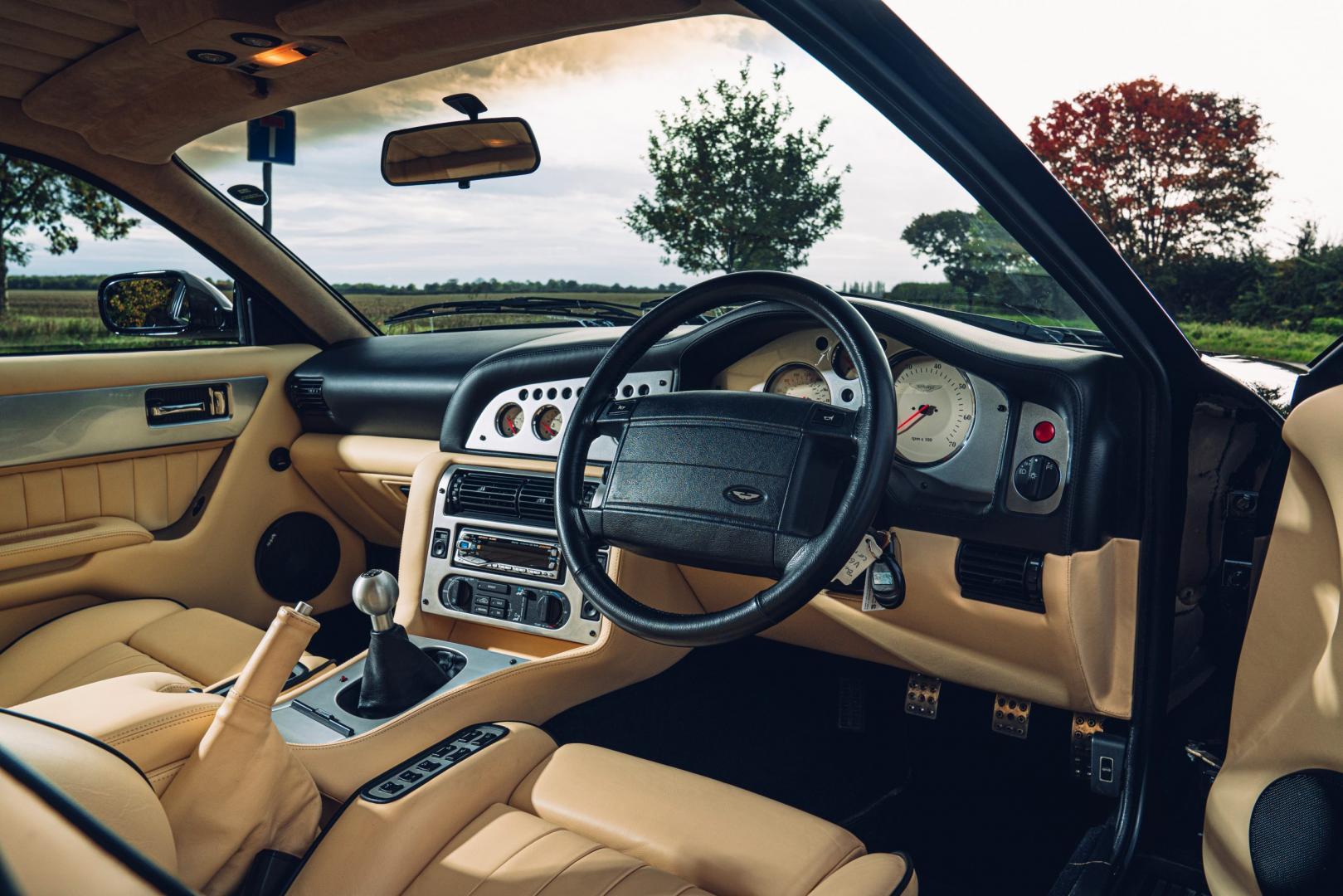 Interieur Aston Martin Vantage V600