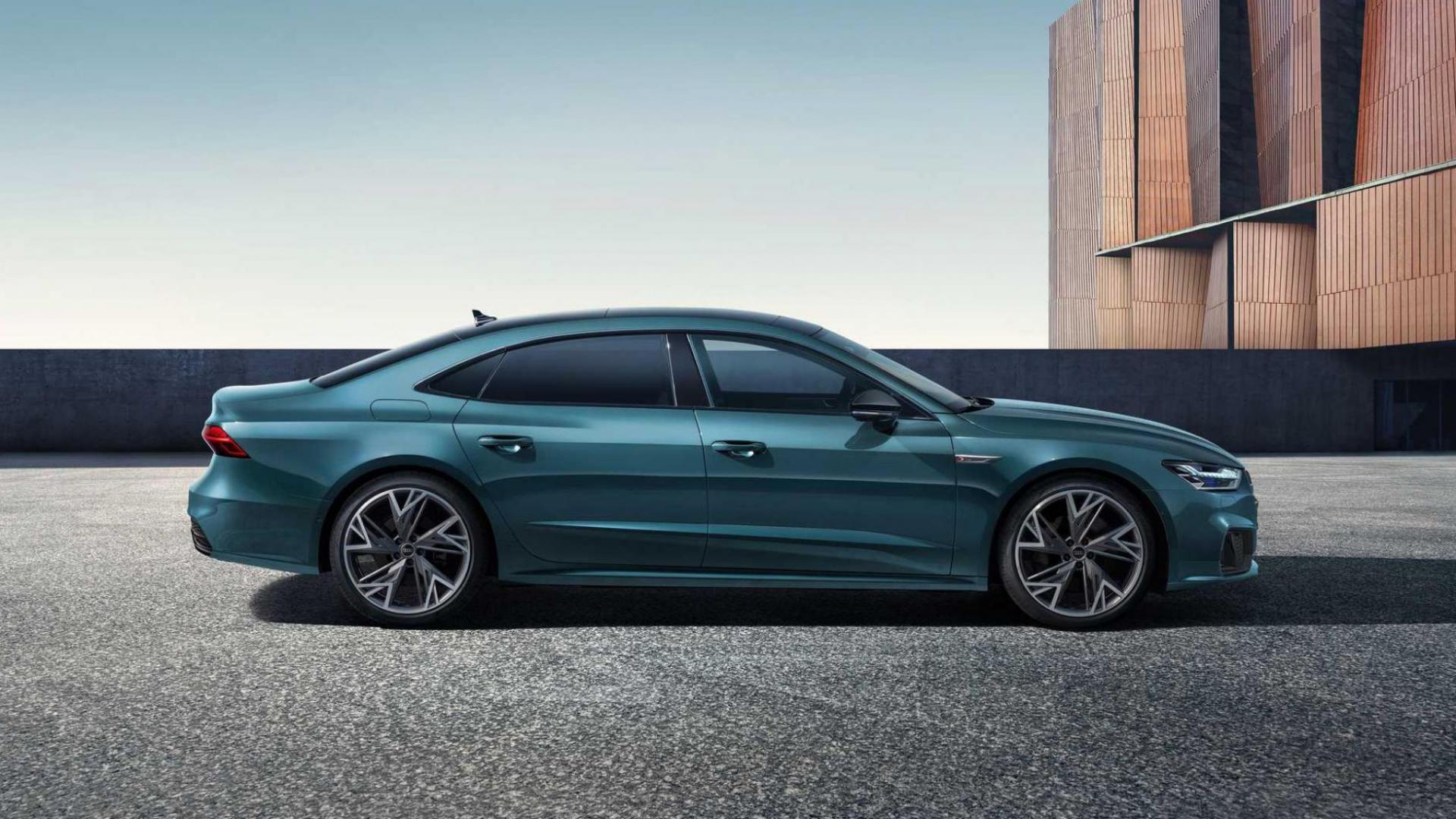 Zijkant Audi A7L