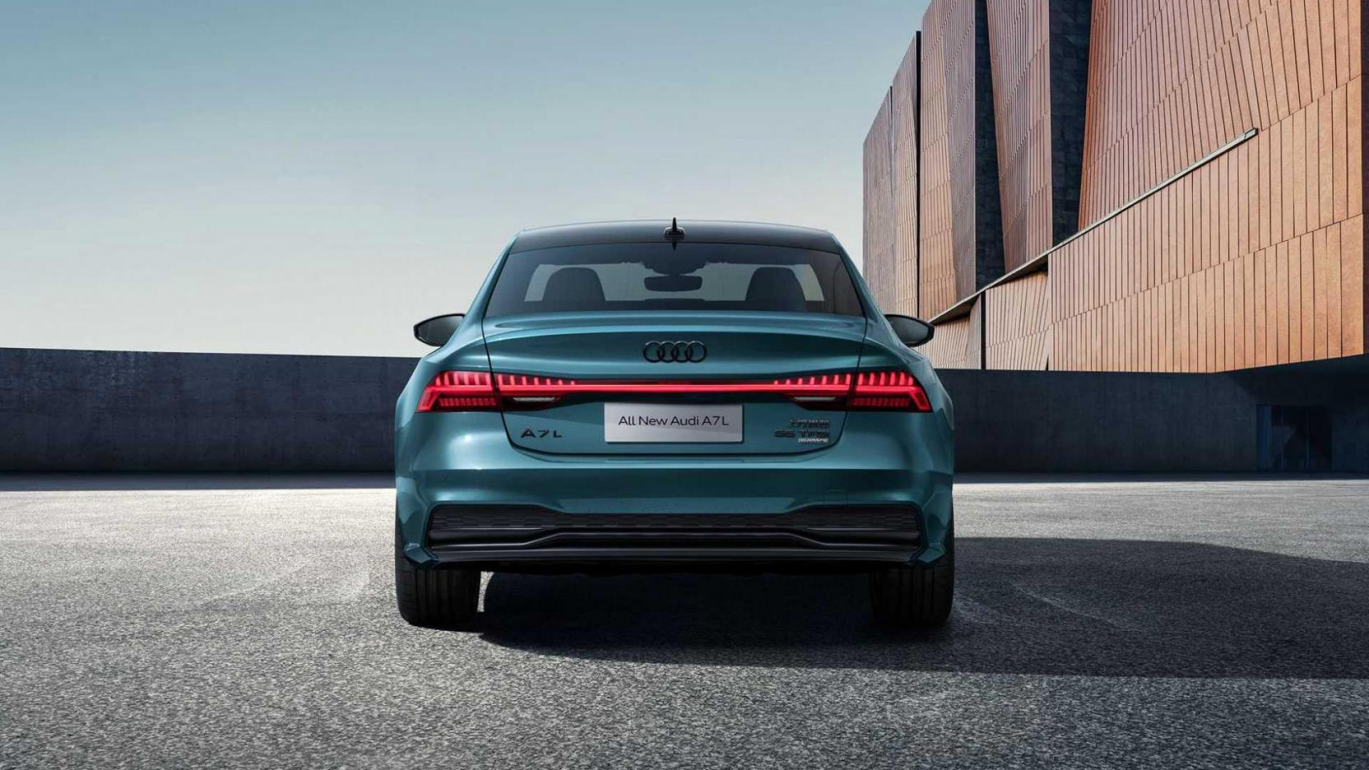 Achterkant Audi A7L