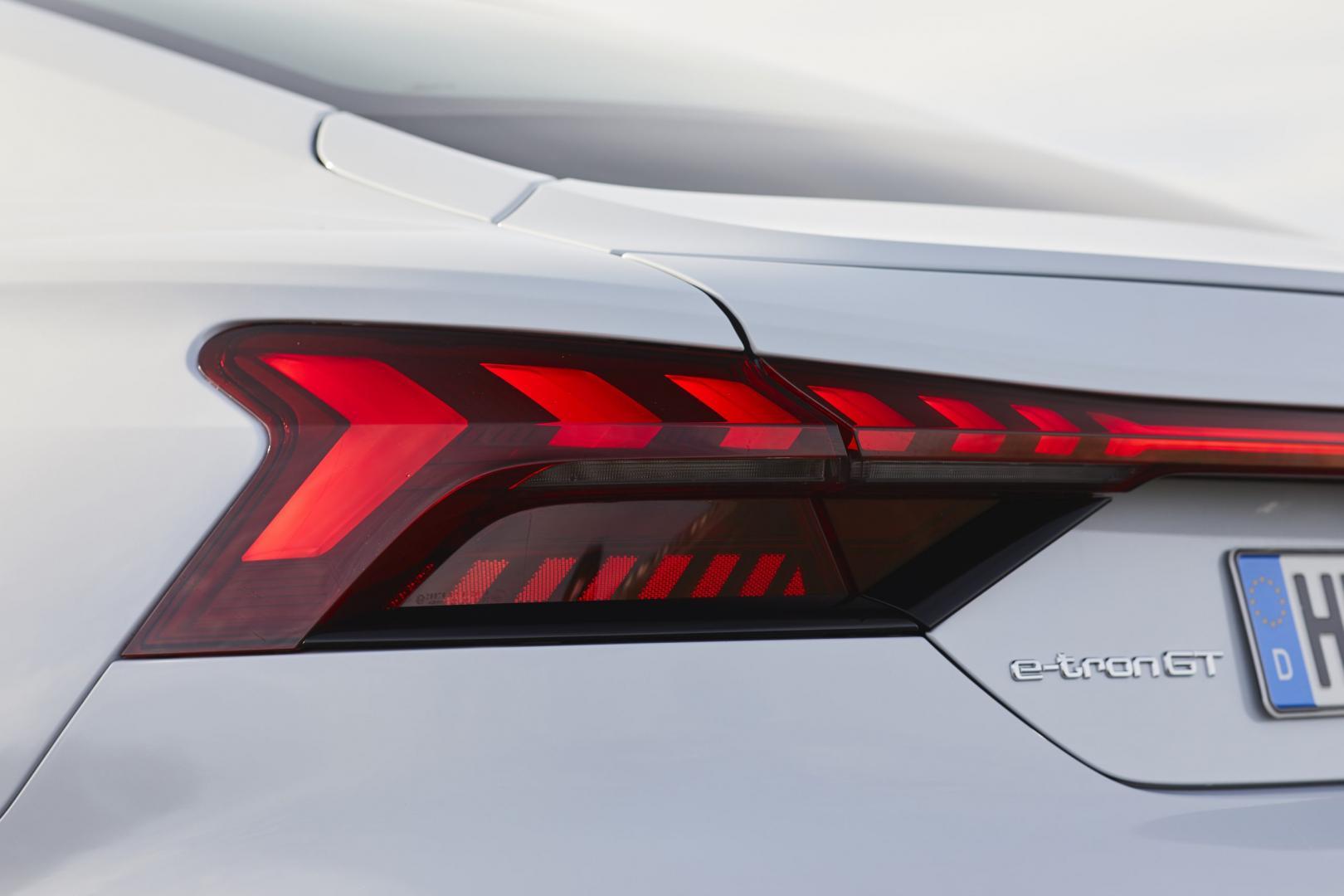 Achterlicht Audi e-tron GT 60 Quattro