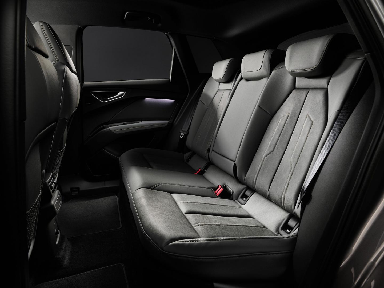 Achterbank Audi Q4 e-tron (2021)
