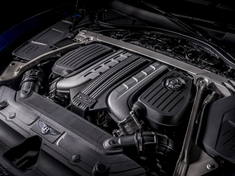 Motor Bentley Continental GT Speed Convertible