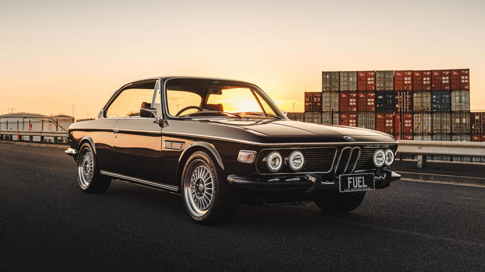 BMW 2800 CS met M3-motor is fantastisch