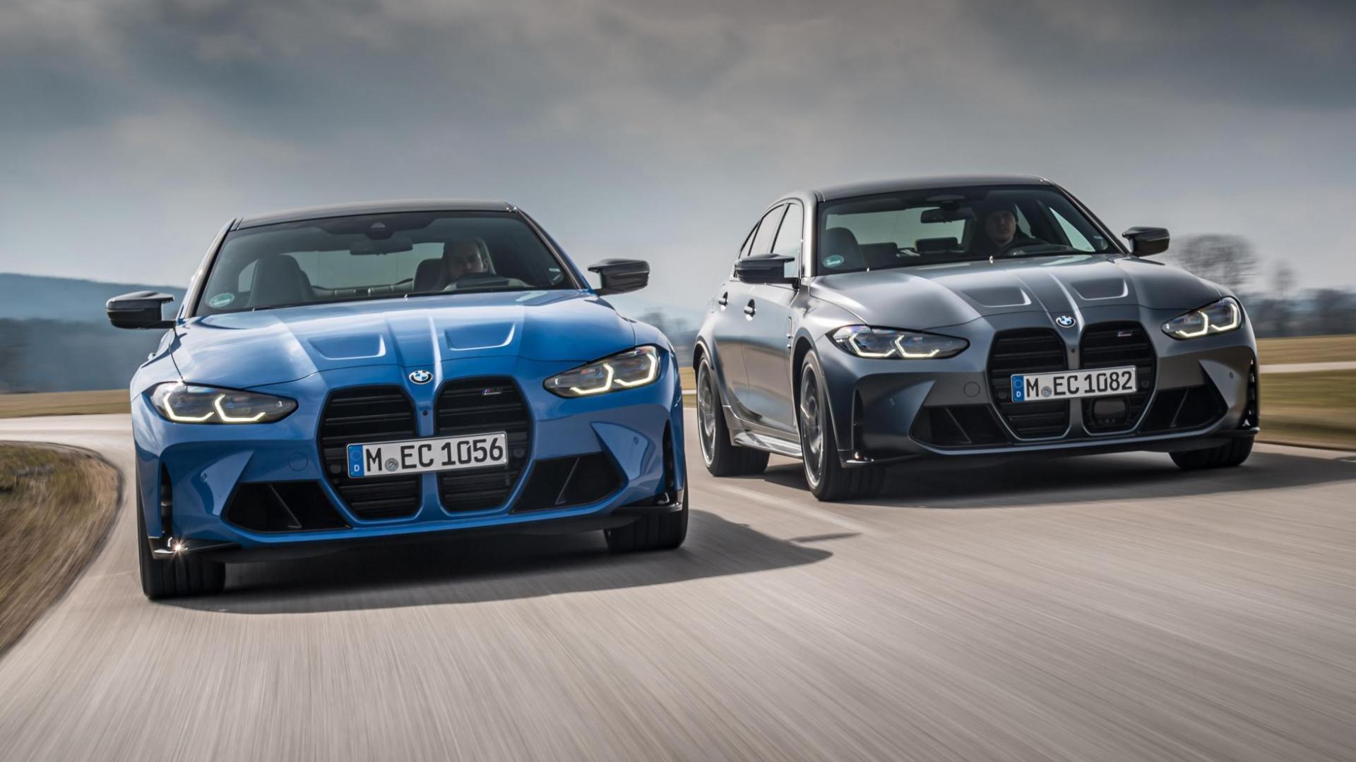 BMW M3 xDrive en M4 xDrive