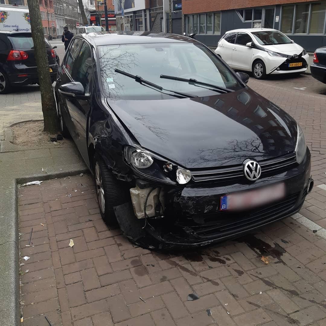Coolestraat Rotterdam crash