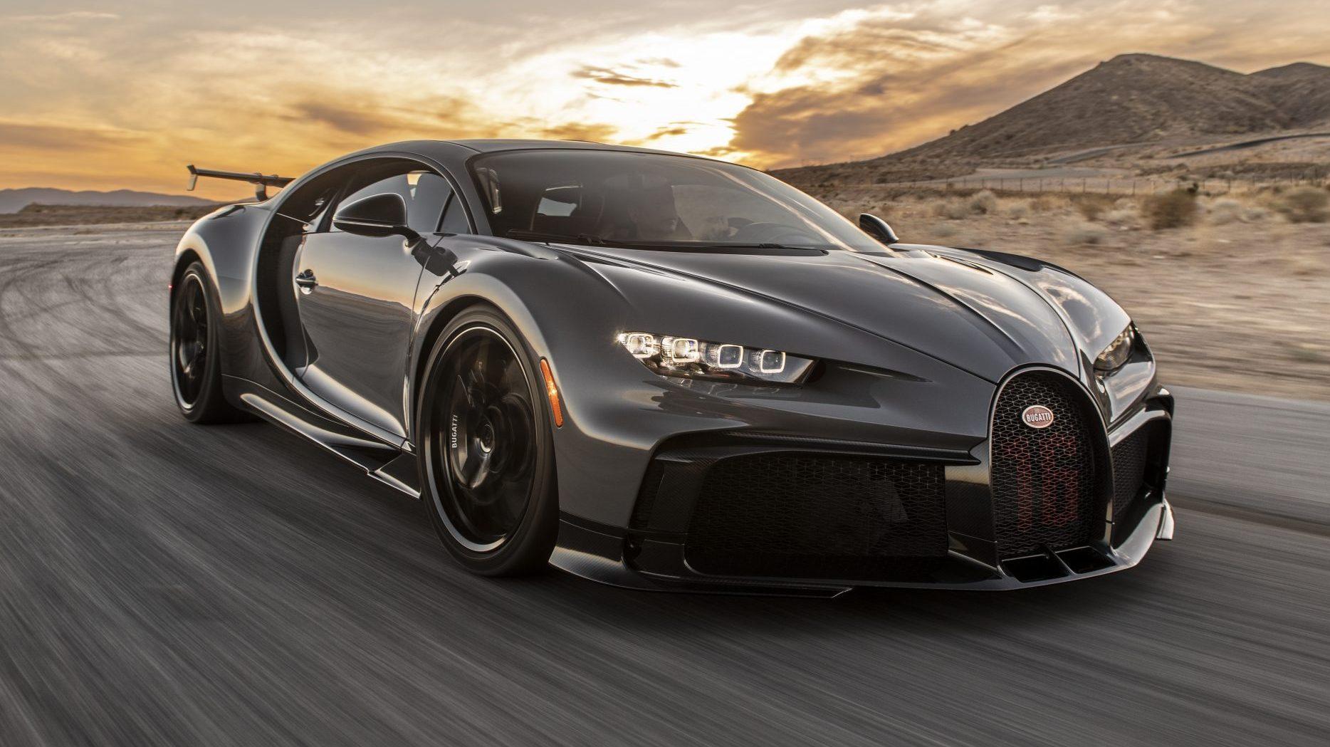 Bugatti Chiron Pur Sport crasht