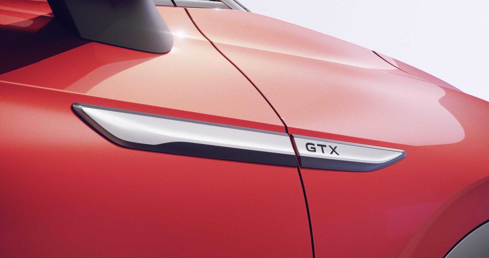 Badge Volkswagen ID.4 GTX