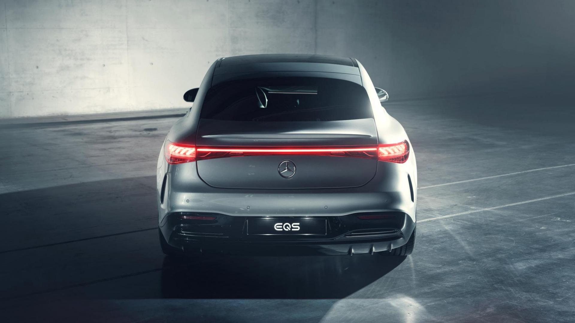 Mercedes EQS: de elektrische S-klasse (2021) - TopGear