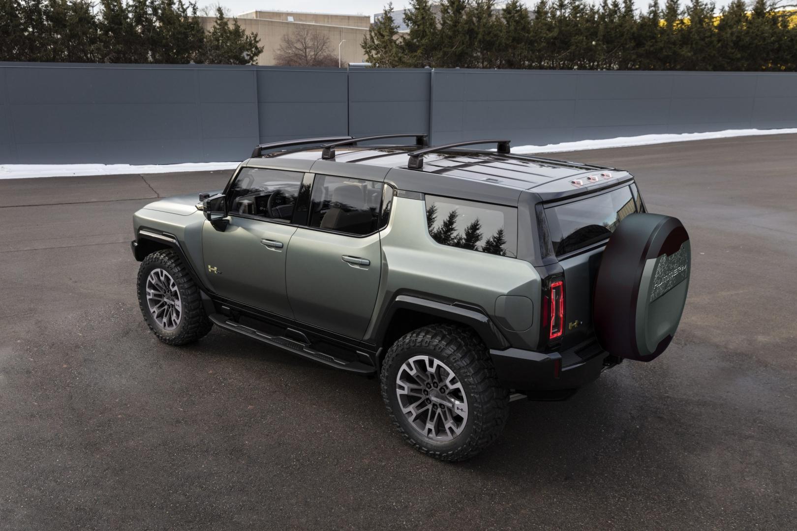 Elektrische GMC Hummer SUV