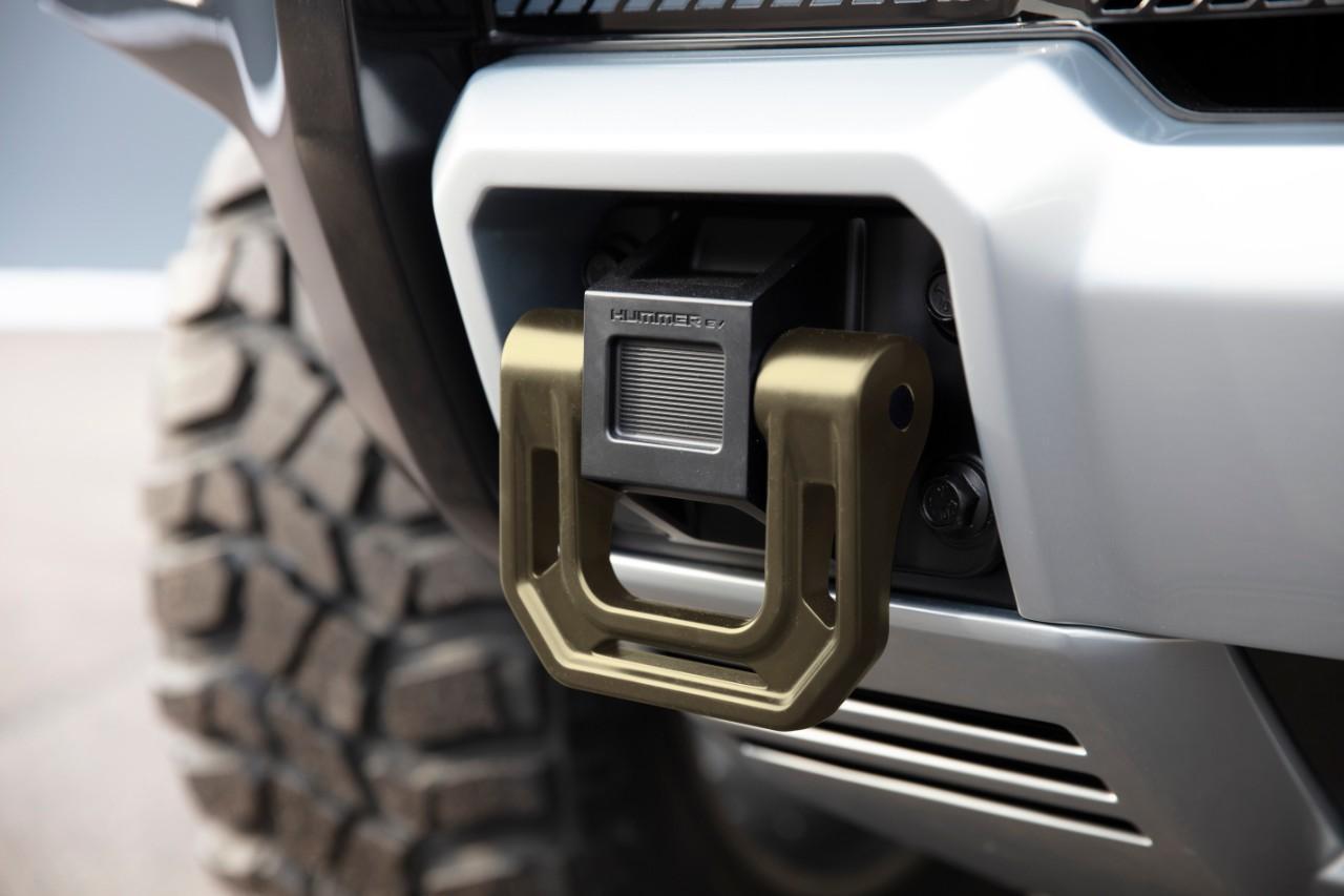Elektrische GMC Hummer SUV sleepoog