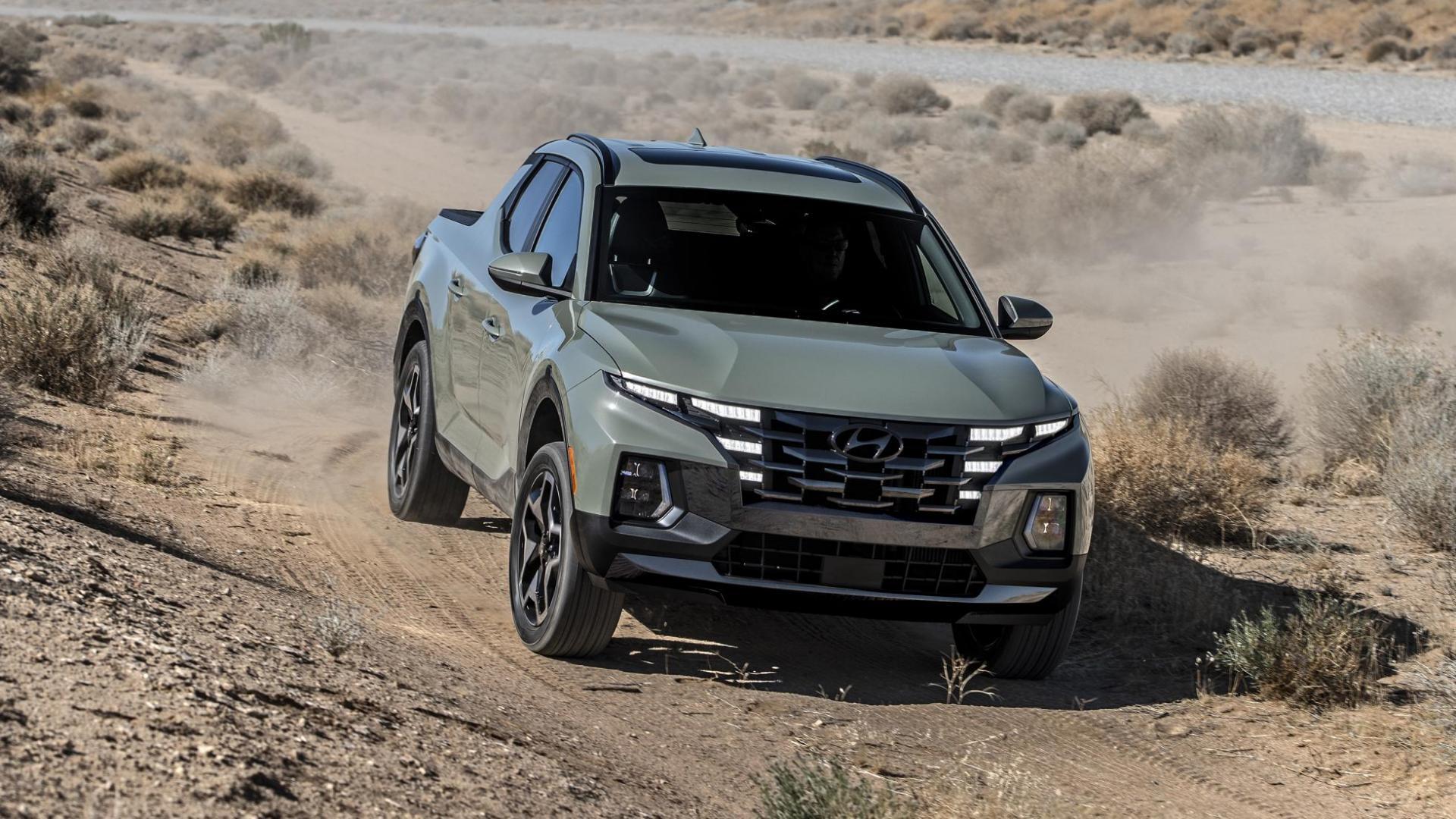 Hyundai Santa Cruz (Tucson Pick-up)