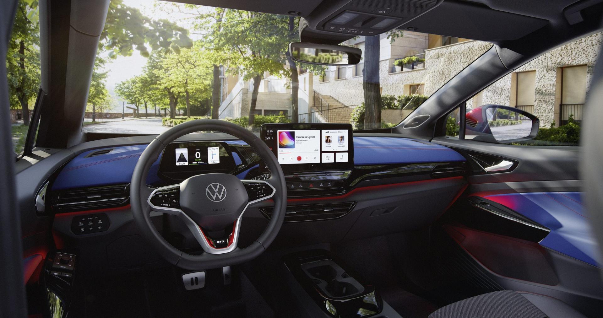 Interieur Volkswagen ID.4 GTX