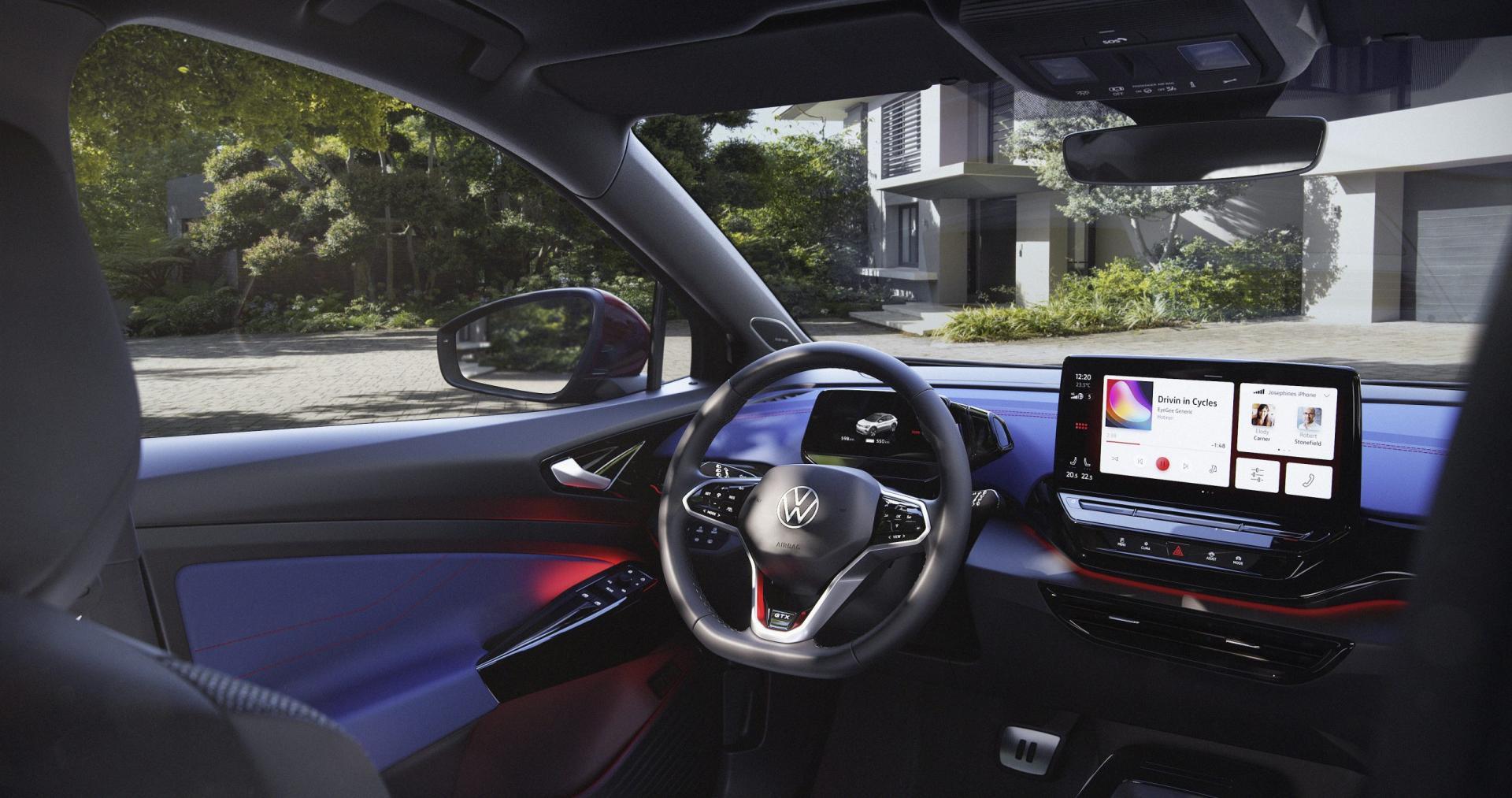 Dashboard Volkswagen ID.4 GTX