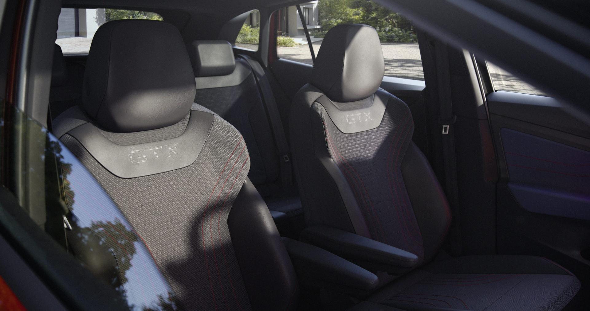 Interieur, stoelen Volkswagen ID.4 GTX