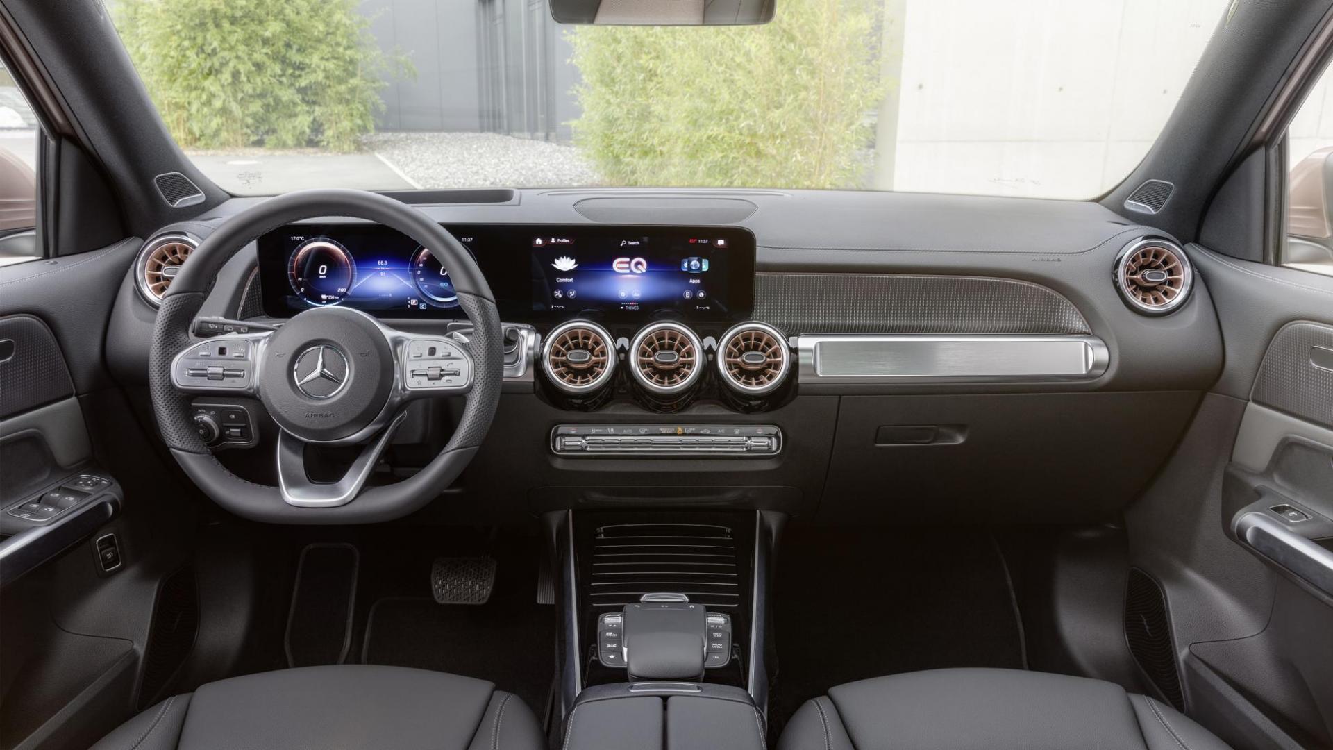Dashboard Elektrische Mercedes EQB (2021)