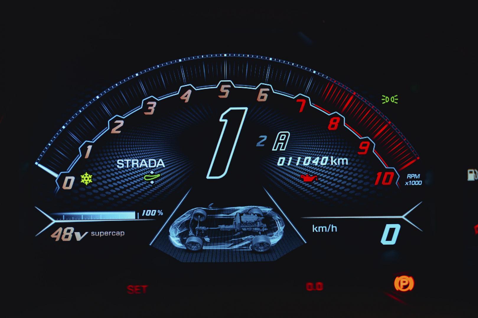 Lamborghini Sian (2021) teller
