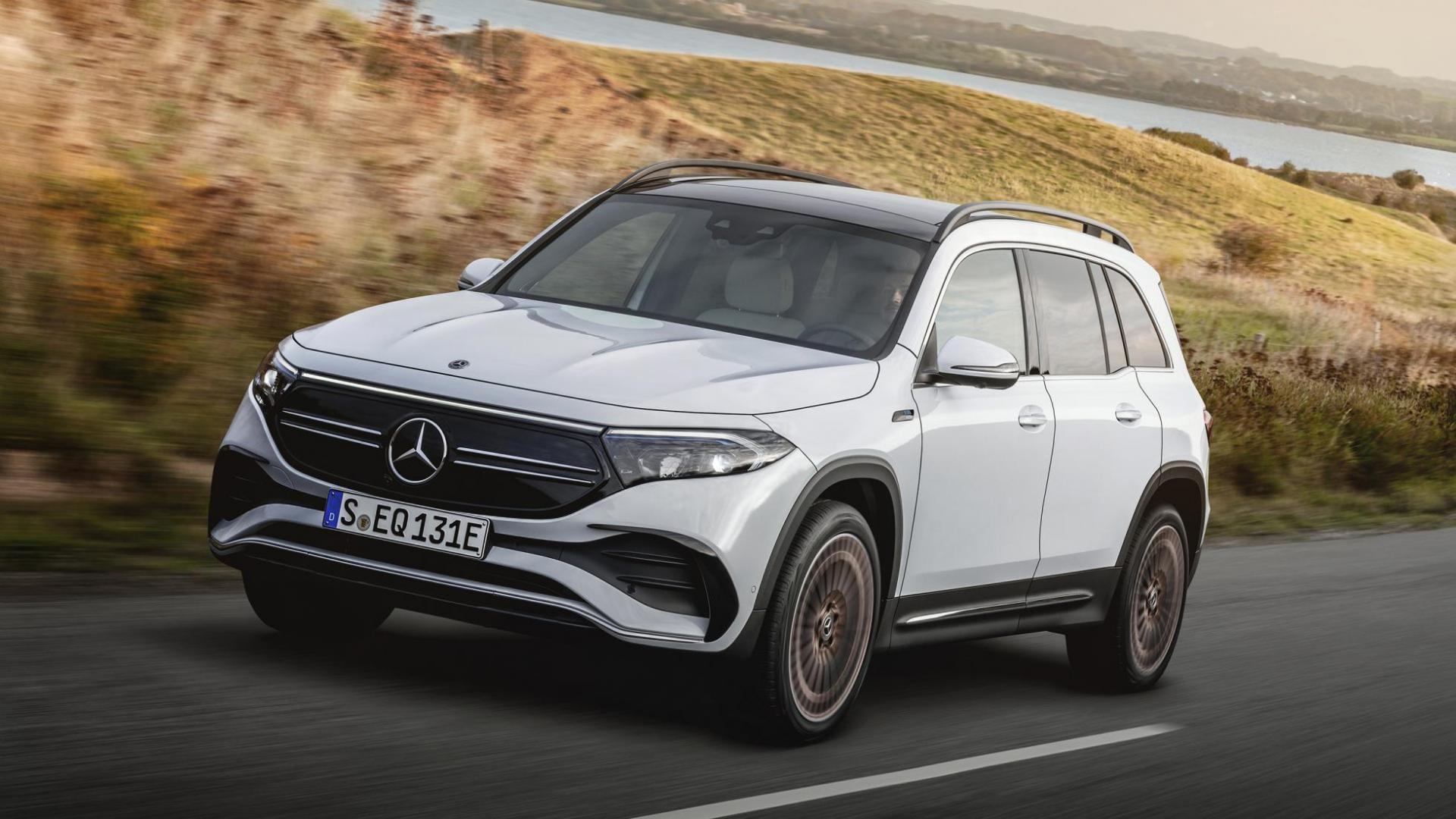 Elektrische Mercedes EQB (2021)
