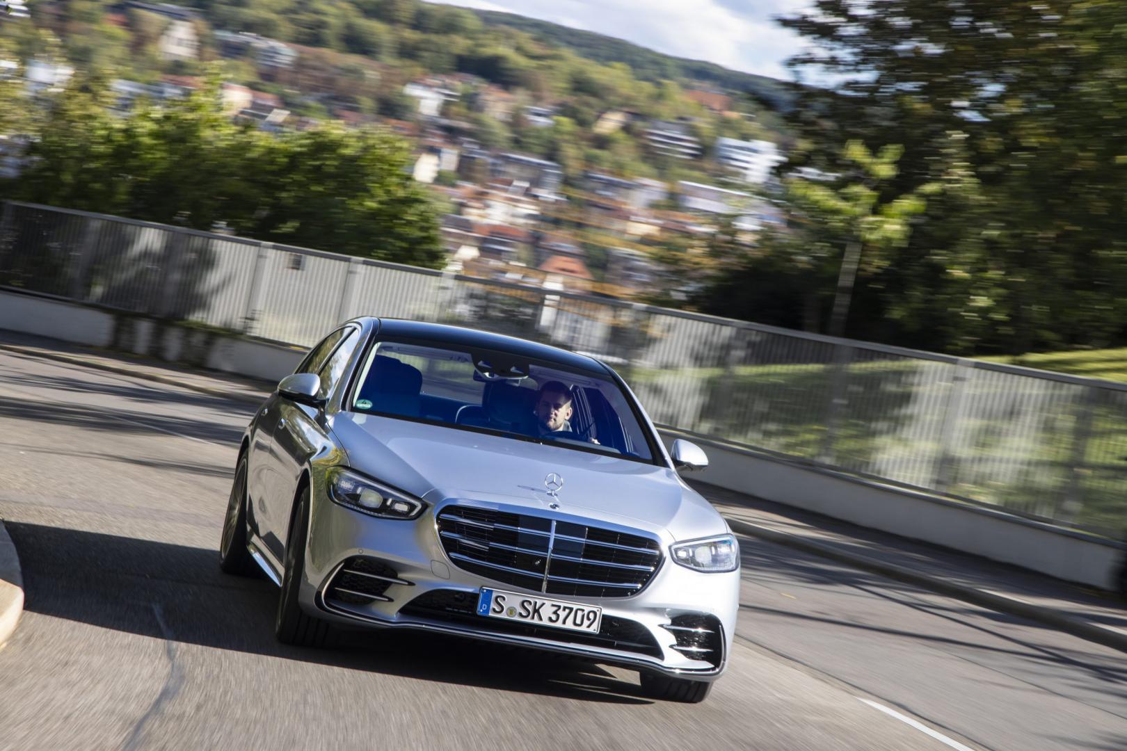 Mercedes-Benz S-Klasse S 500 Lang