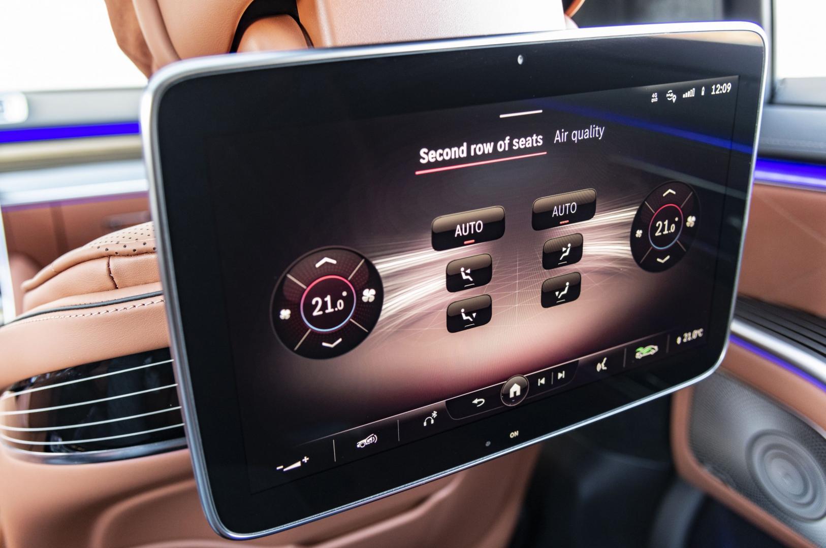 Mercedes-Benz S-Klasse S 500 Lang scherm