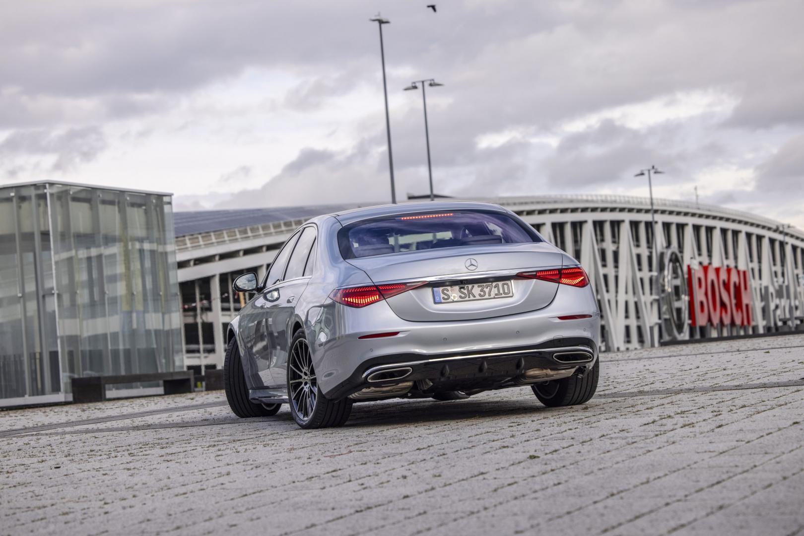 Mercedes-Benz S-Klasse S 500 Lang voorkant