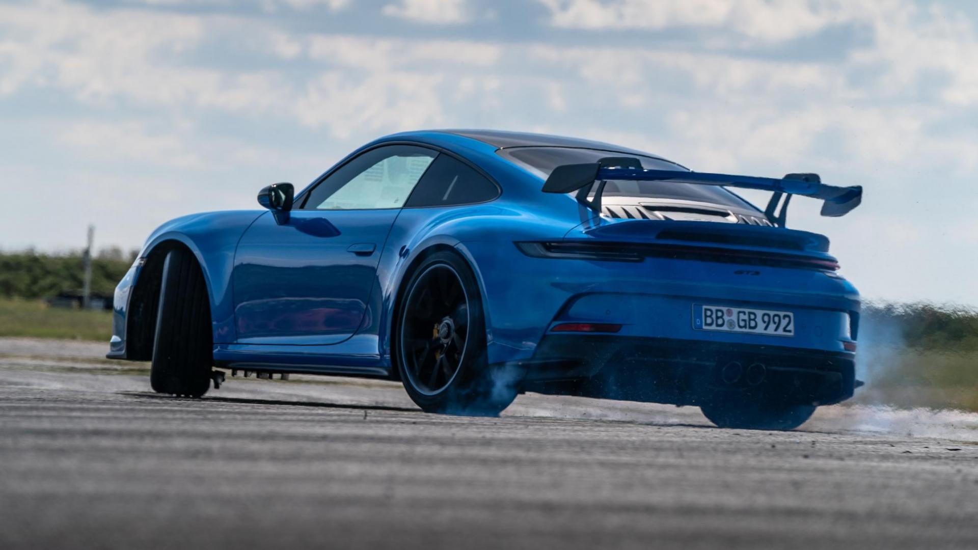 Porsche 911 GT3 (2021) drift
