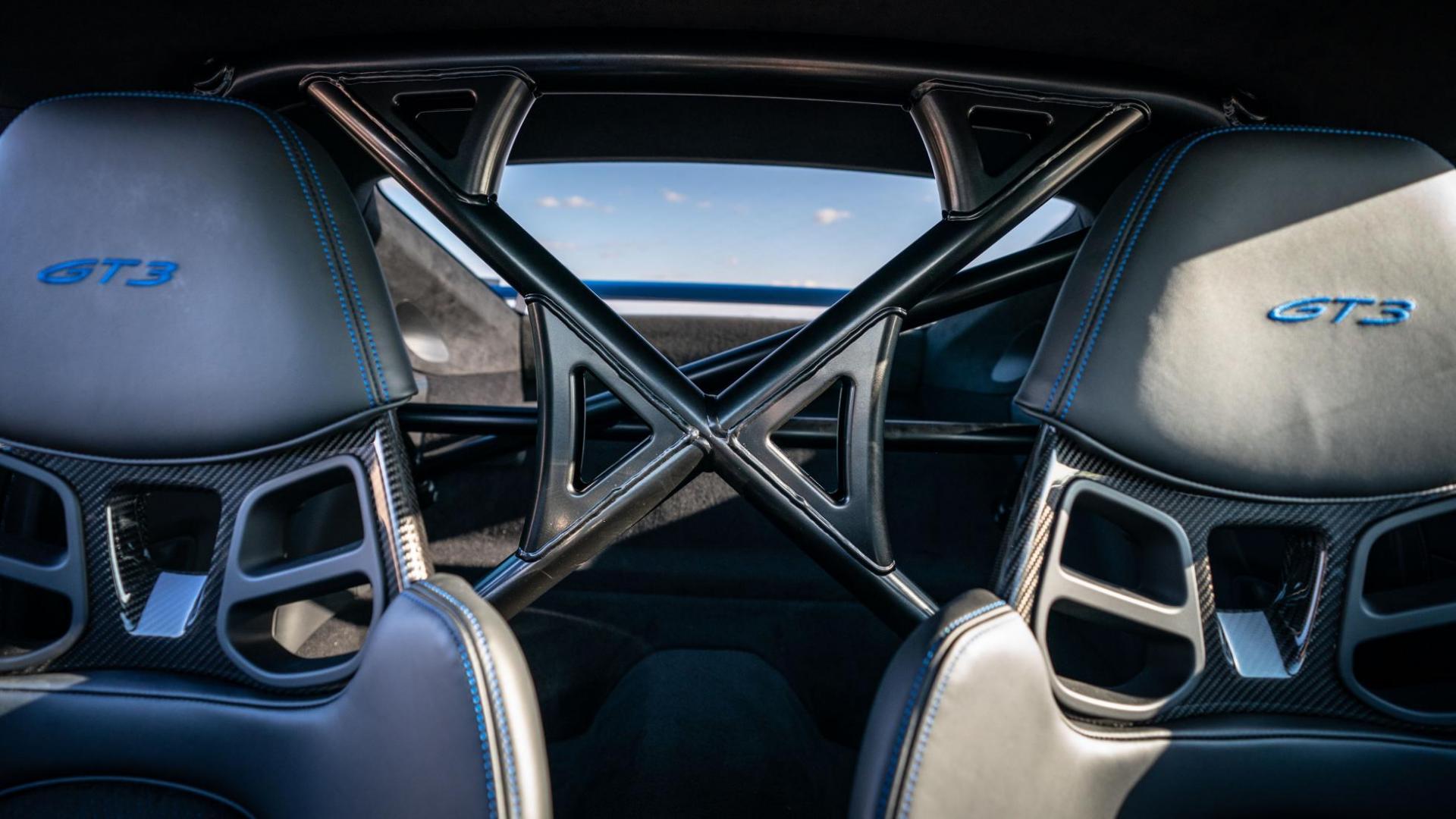 Rolkooi stoelen Porsche 911 GT3 (2021)