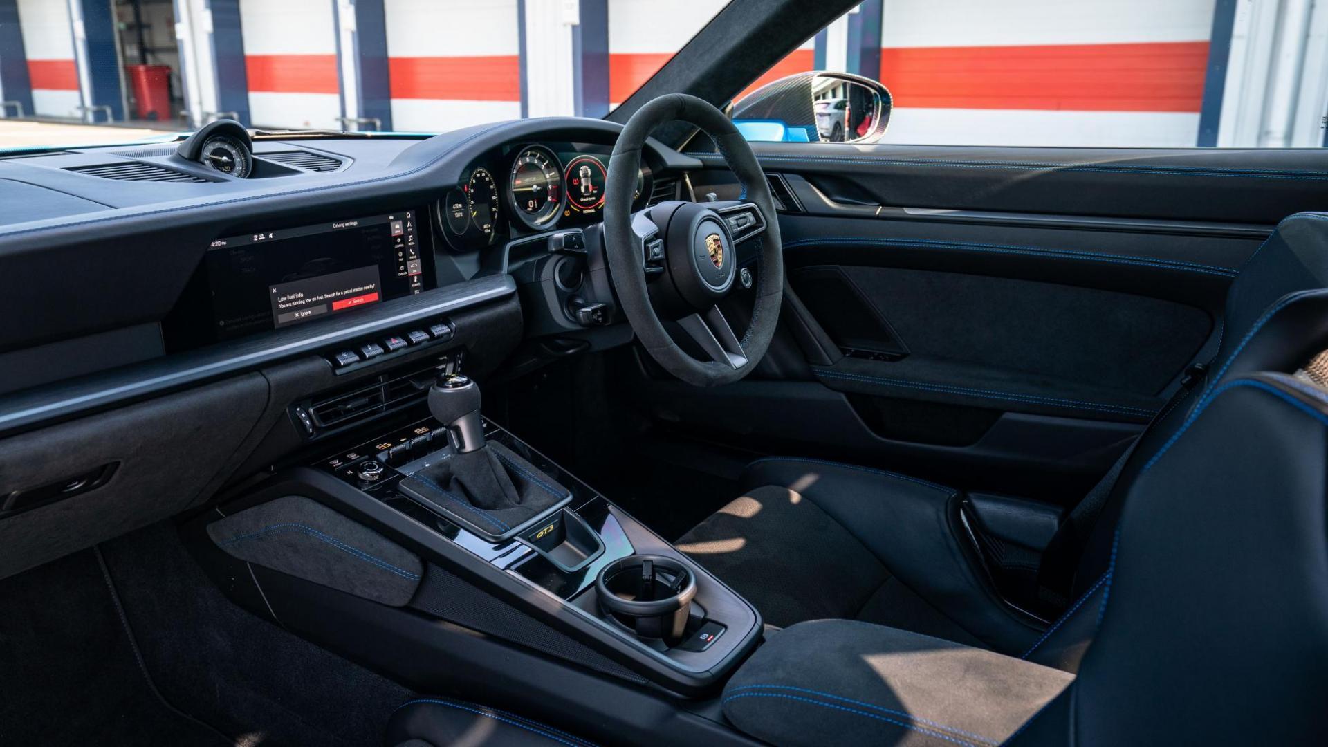 Interieur Porsche 911 GT3 (2021)